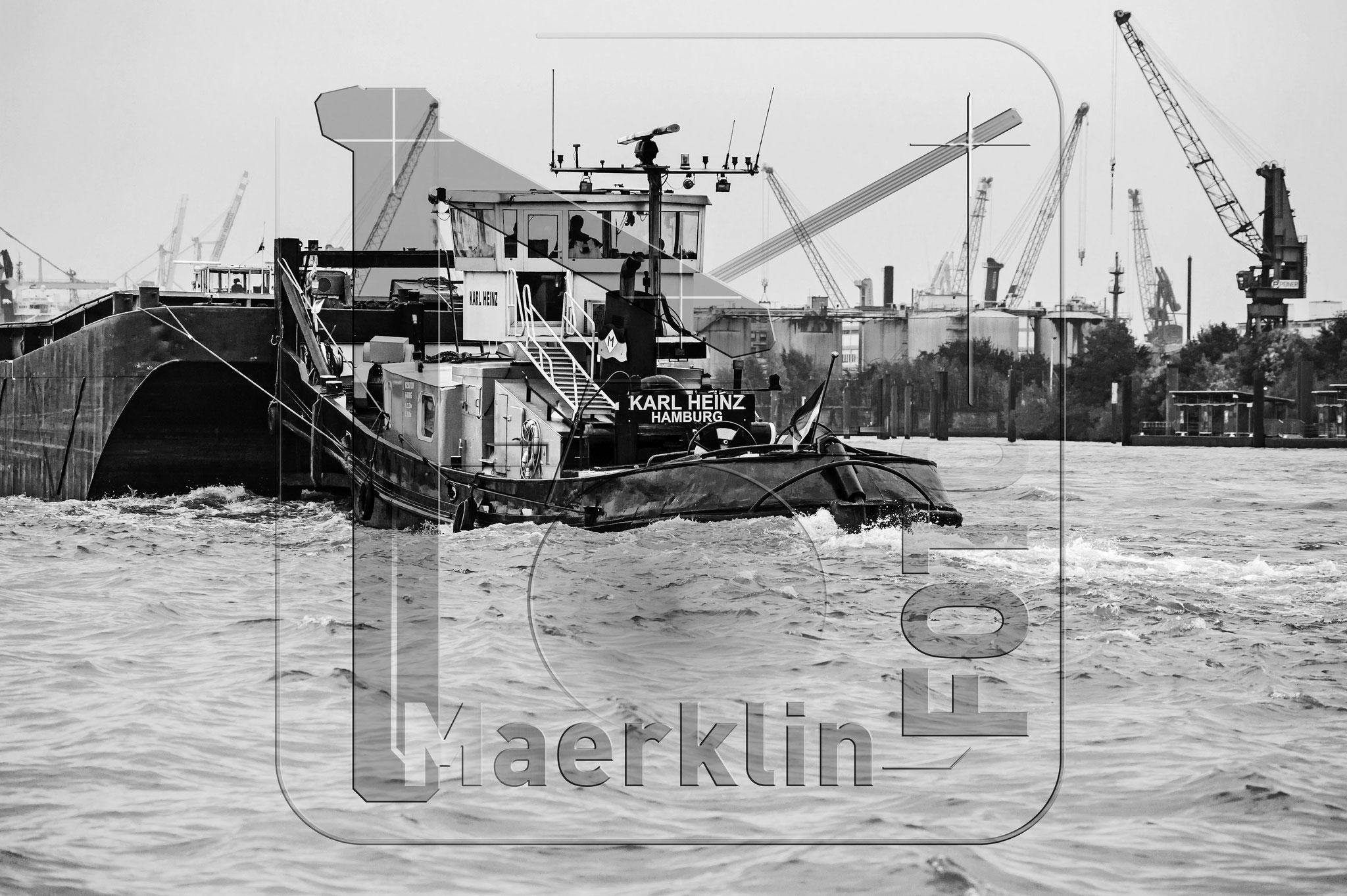 Hansestadt Hamburg, Hafenrundfahrt, Schlepper