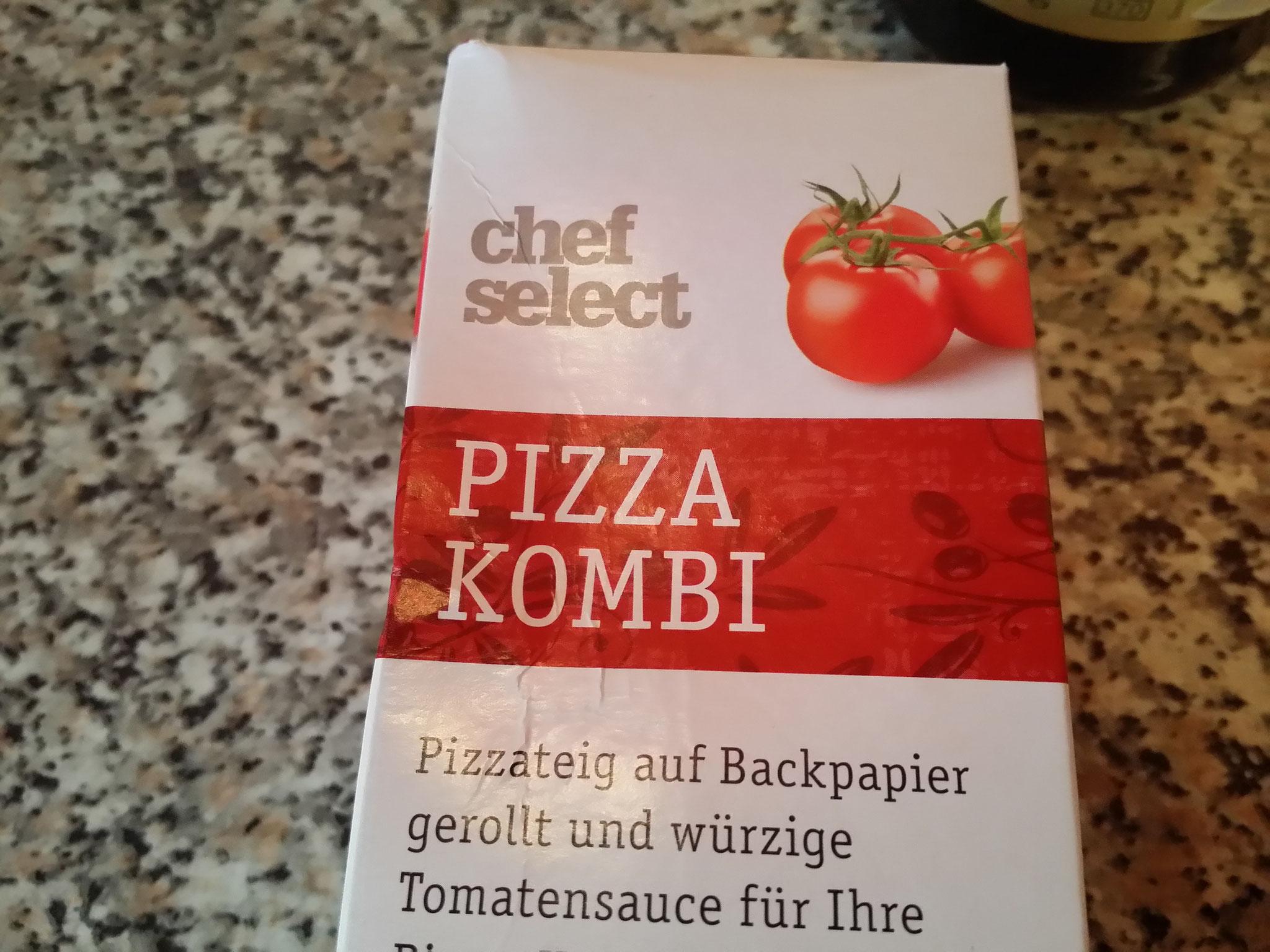 1.- Comprar masa para pizzas (yo compré en Lidl por 1,90€)