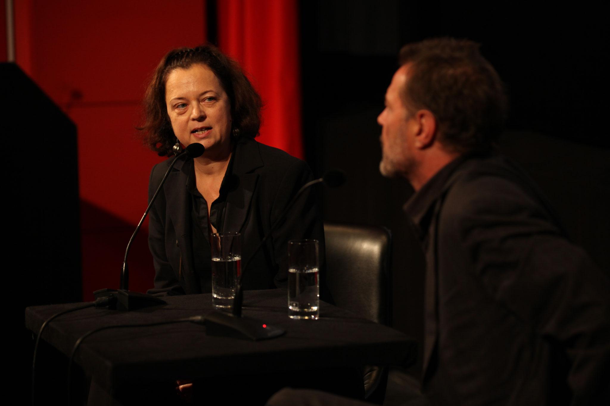 Künstlergespräch mit Sebastian Koch im Deutschen Filmmuseum (22.10.2010, Quelle: DIF / Foto: Sophie Schüler)