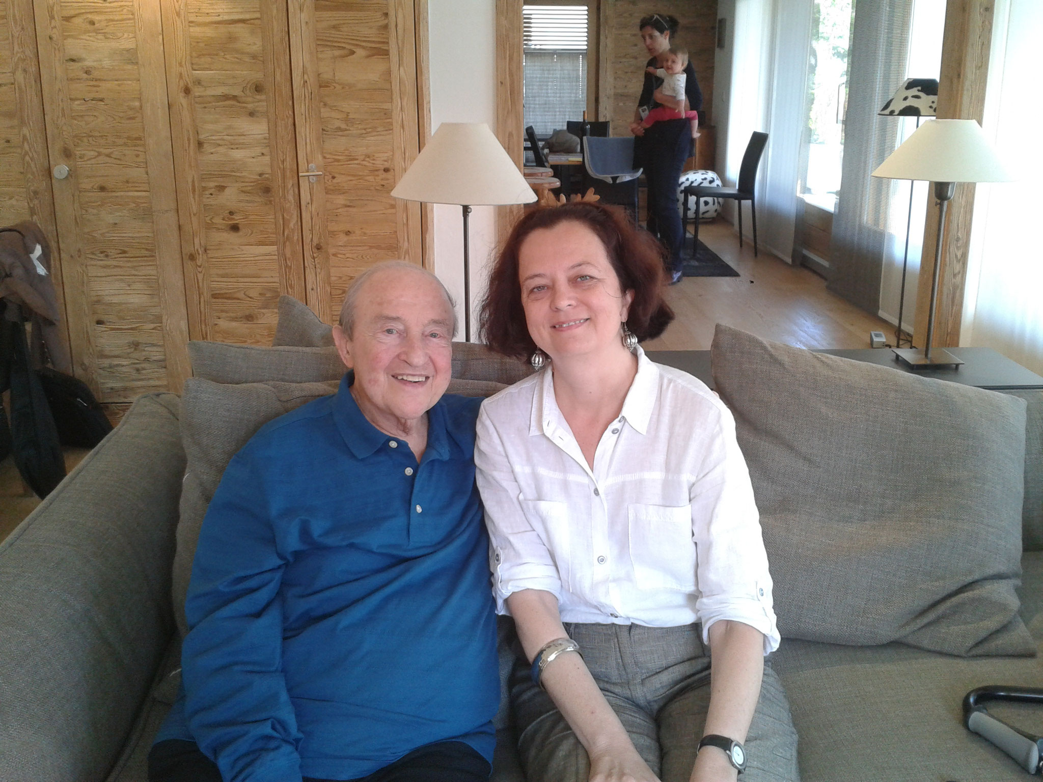 Interview mit dem Pianisten Menahem Pressler in Verbier 2015
