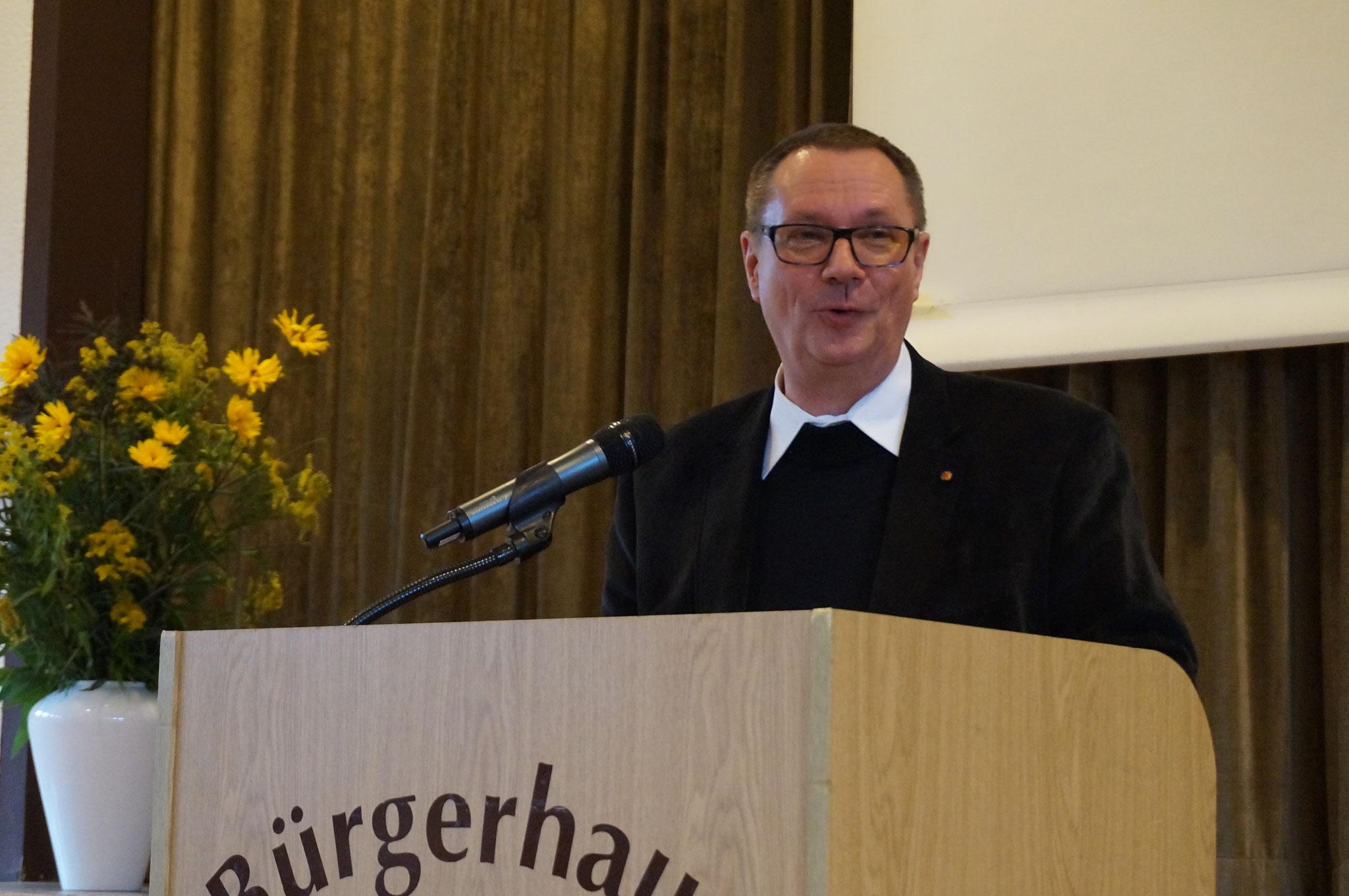 Referent Bundespräses der kfd Pater Dominik Kitta, OPraem, Osnabrück