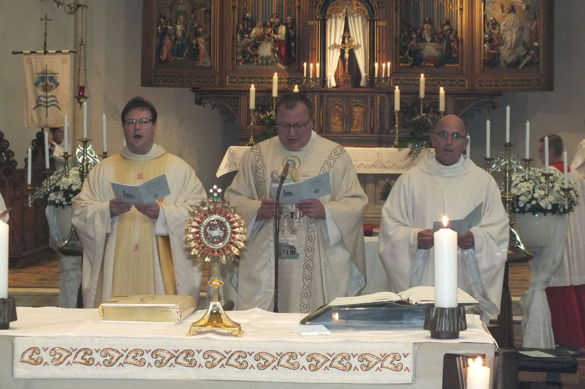 Zelebrant und Prediger: Pfarrer Veit Scapan, St. Petri Bautzen