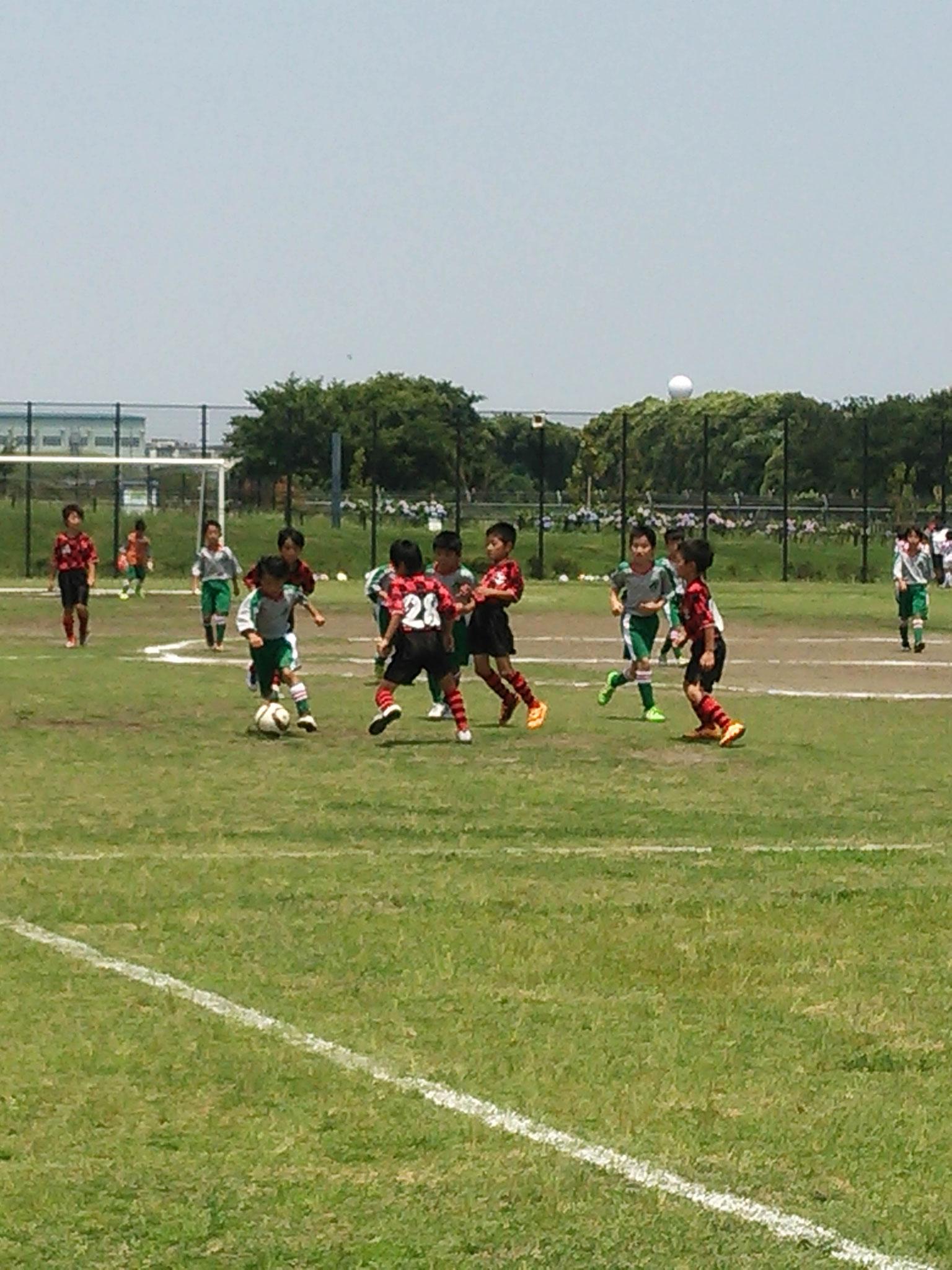 6/18 U-9 緑野FC交流サッカー大会