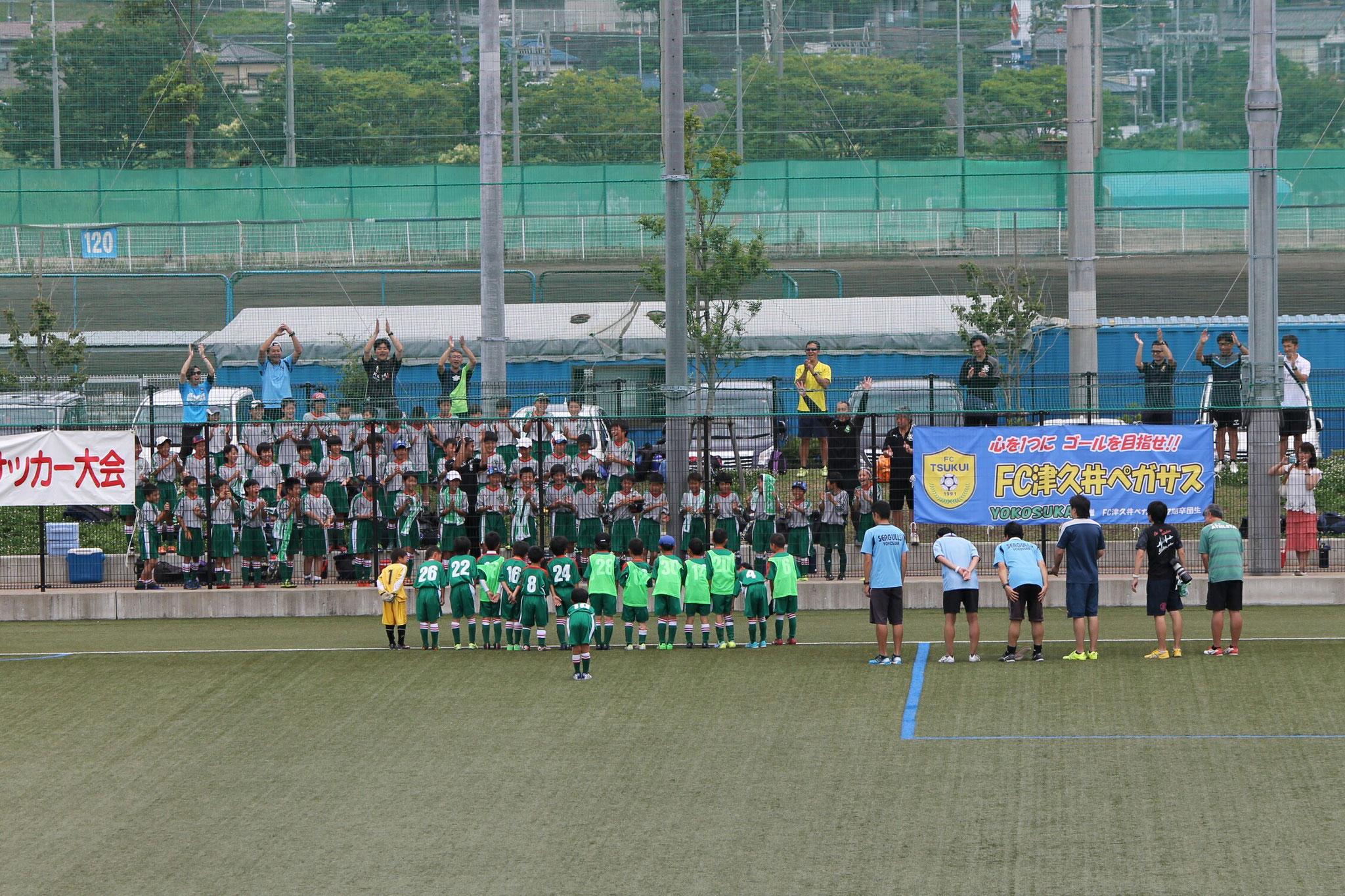 6/26 U-8 ライオンズカップ優勝