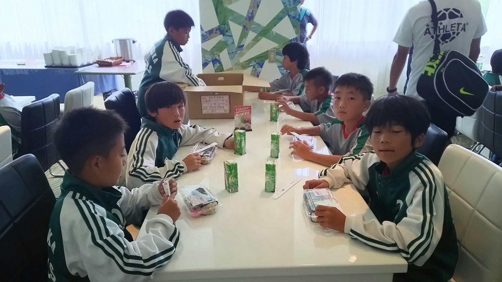 7/23 夏合宿 1日目 昼食