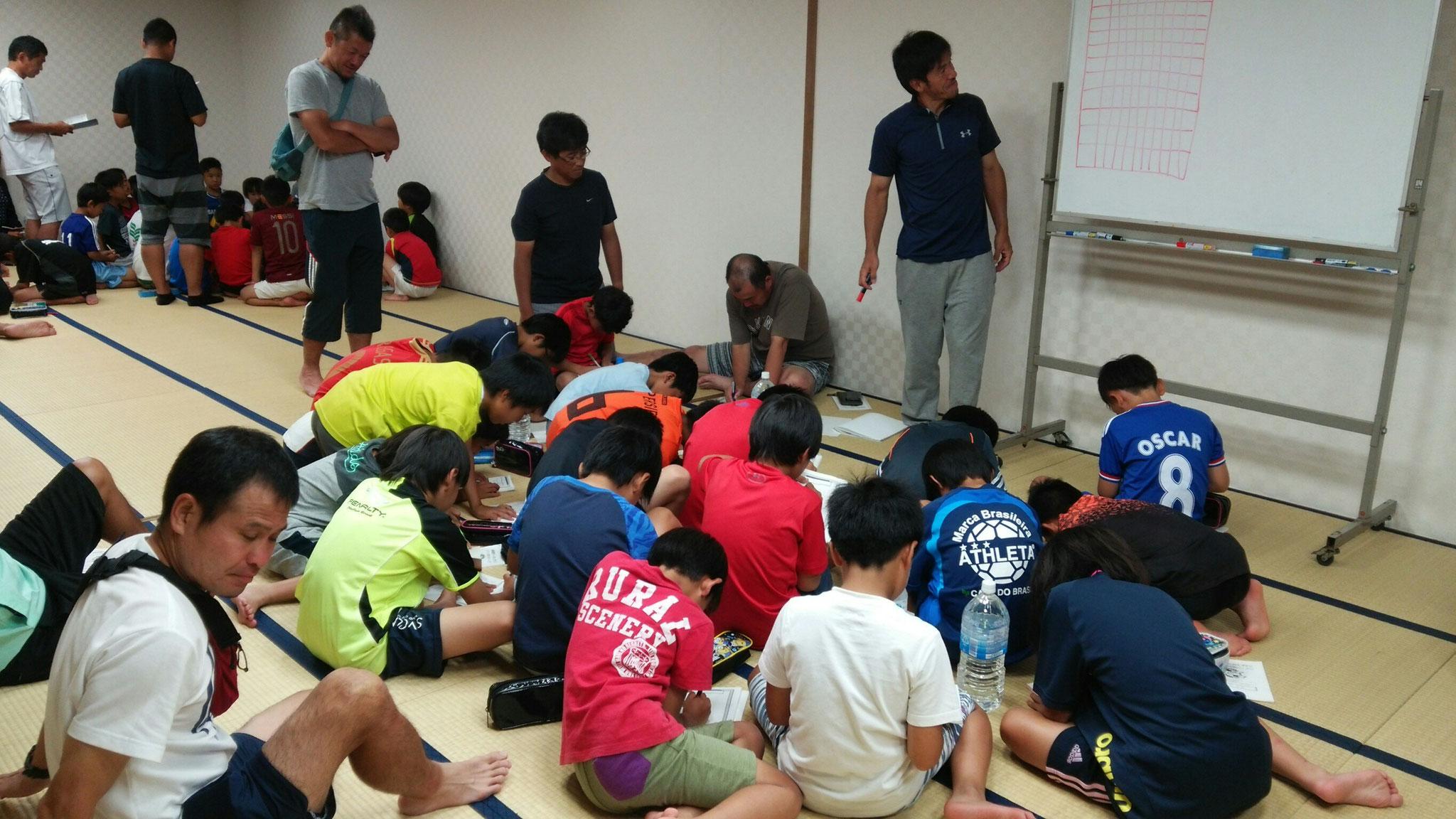 7/23 夏合宿 1日目 夜:ミーティング