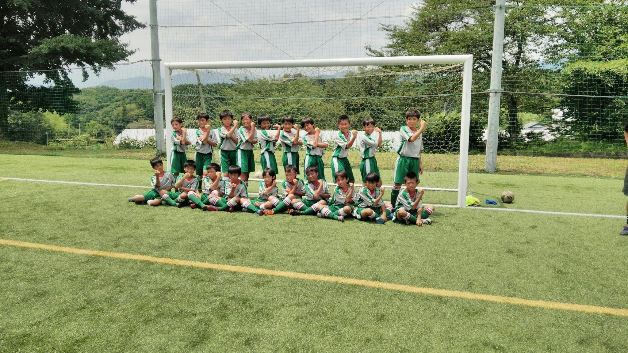 7/25 夏合宿3日目 横須賀シーガルFC U-11