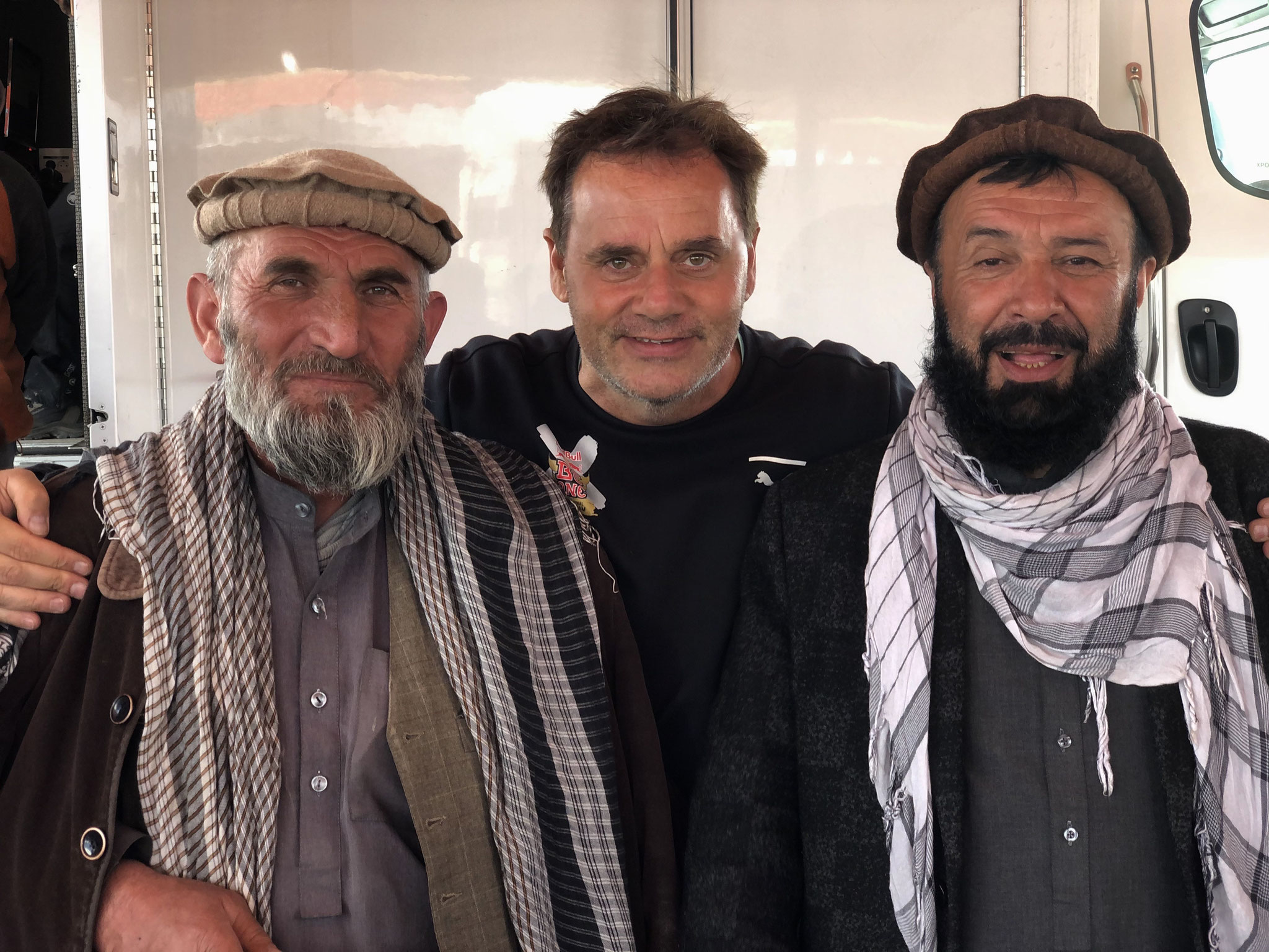 TV-regisseur Buzkashi RTA Afghanistan.
