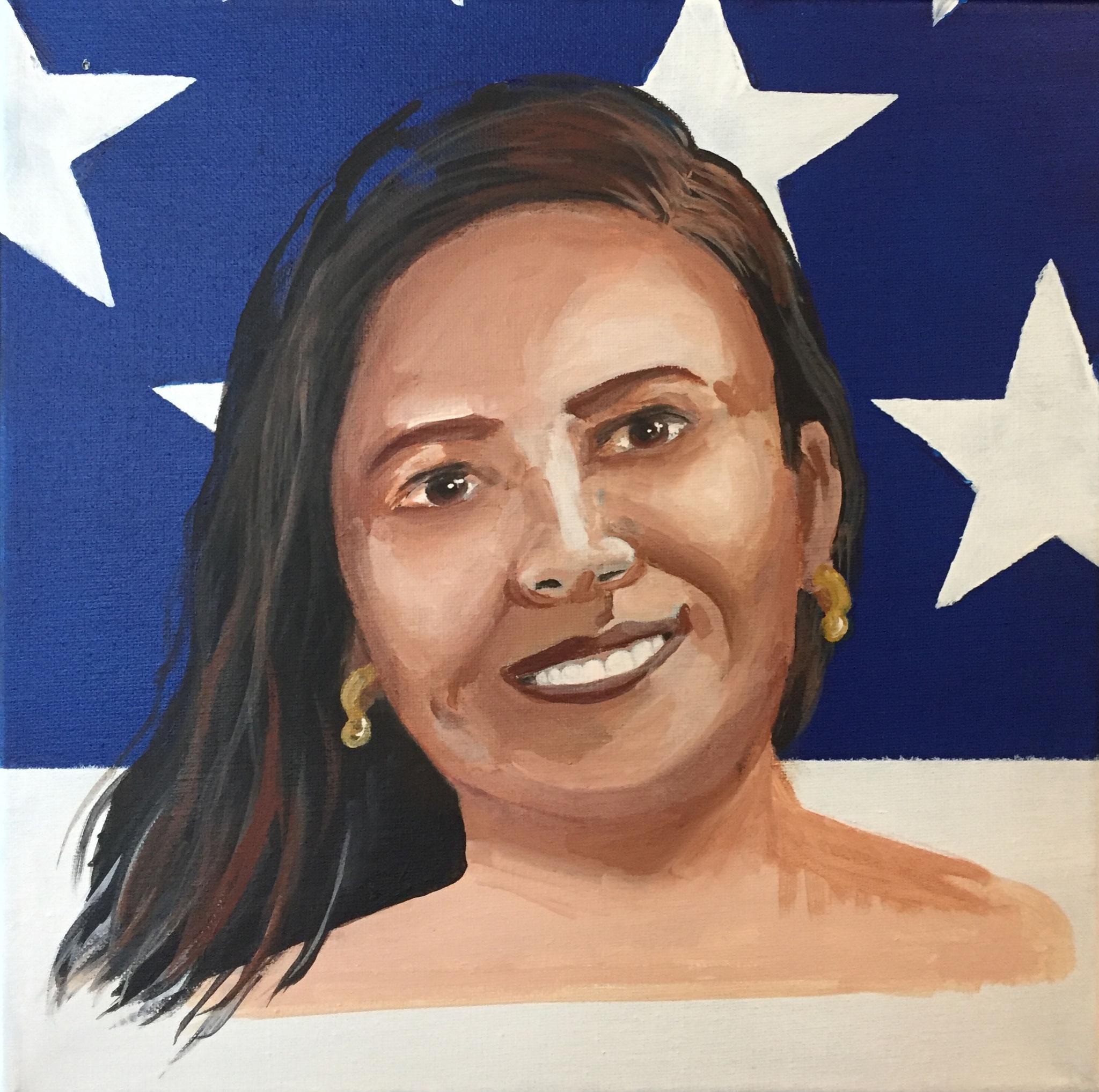 Patricia Langos: promovia el crecimiento de las personas que contrataba, primordialmente latinos
