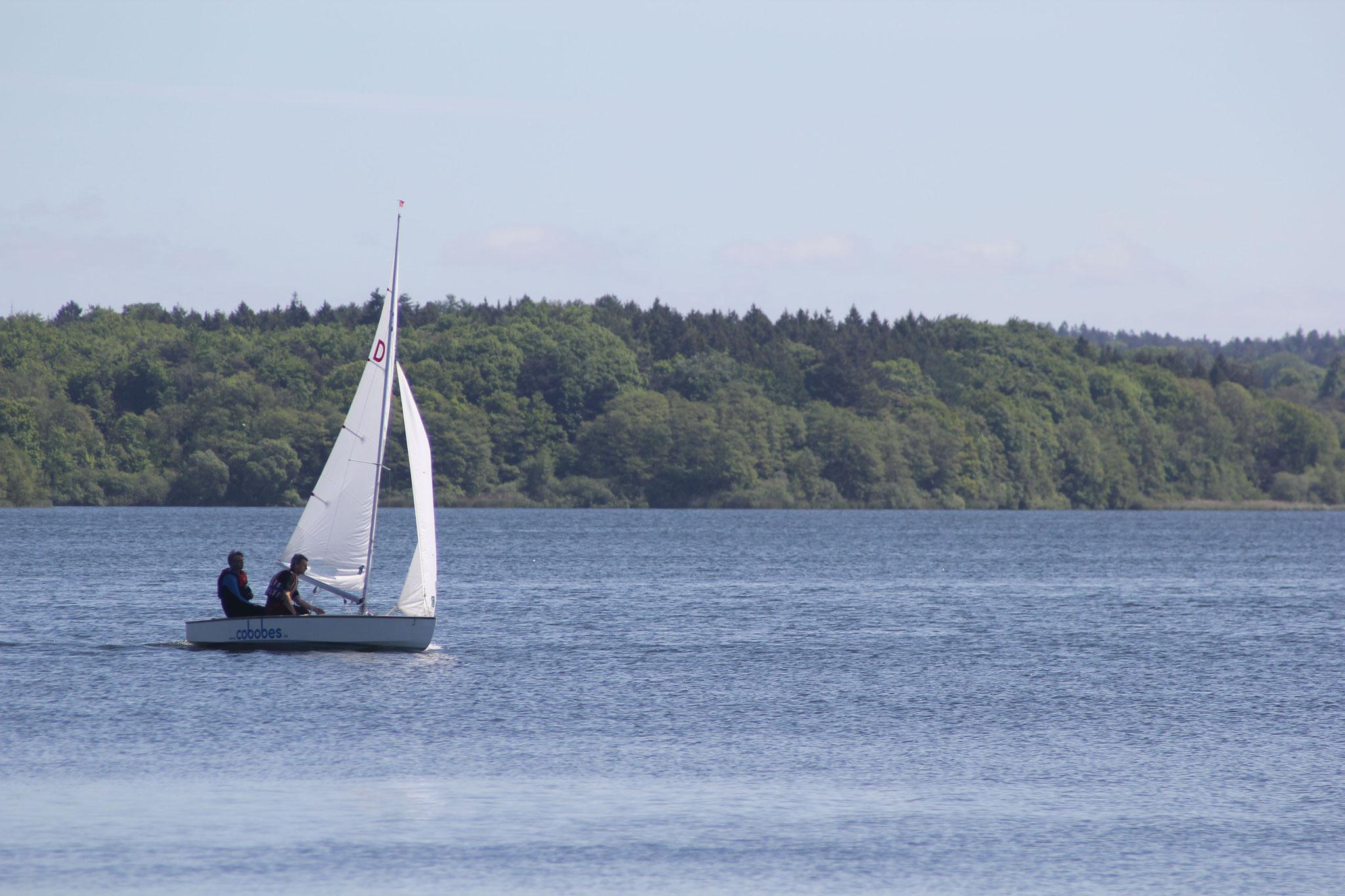 Pirat auf dem See