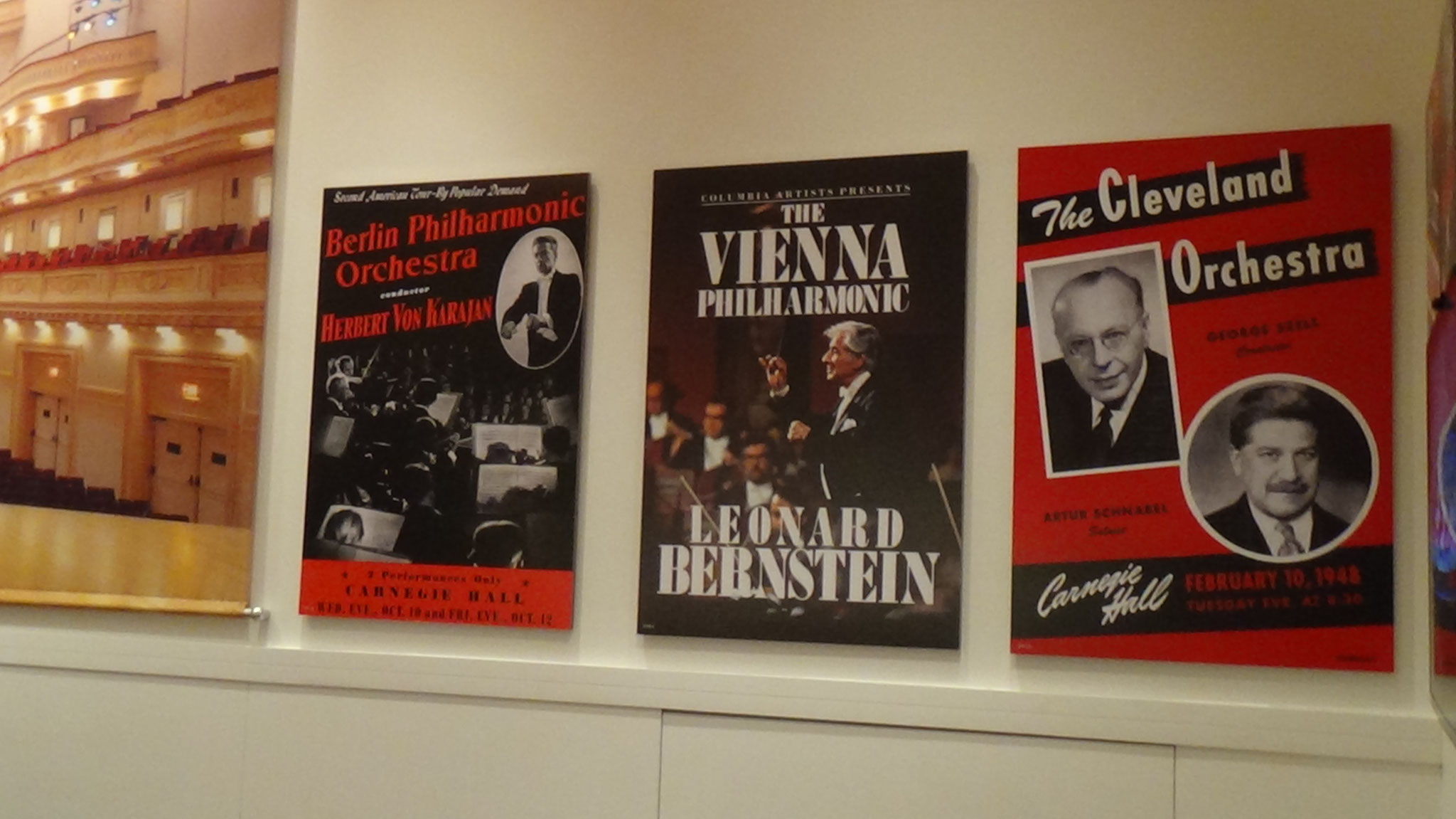 Aufenthaltsraum Carnegie Hall, copyrightlorettawollenberg
