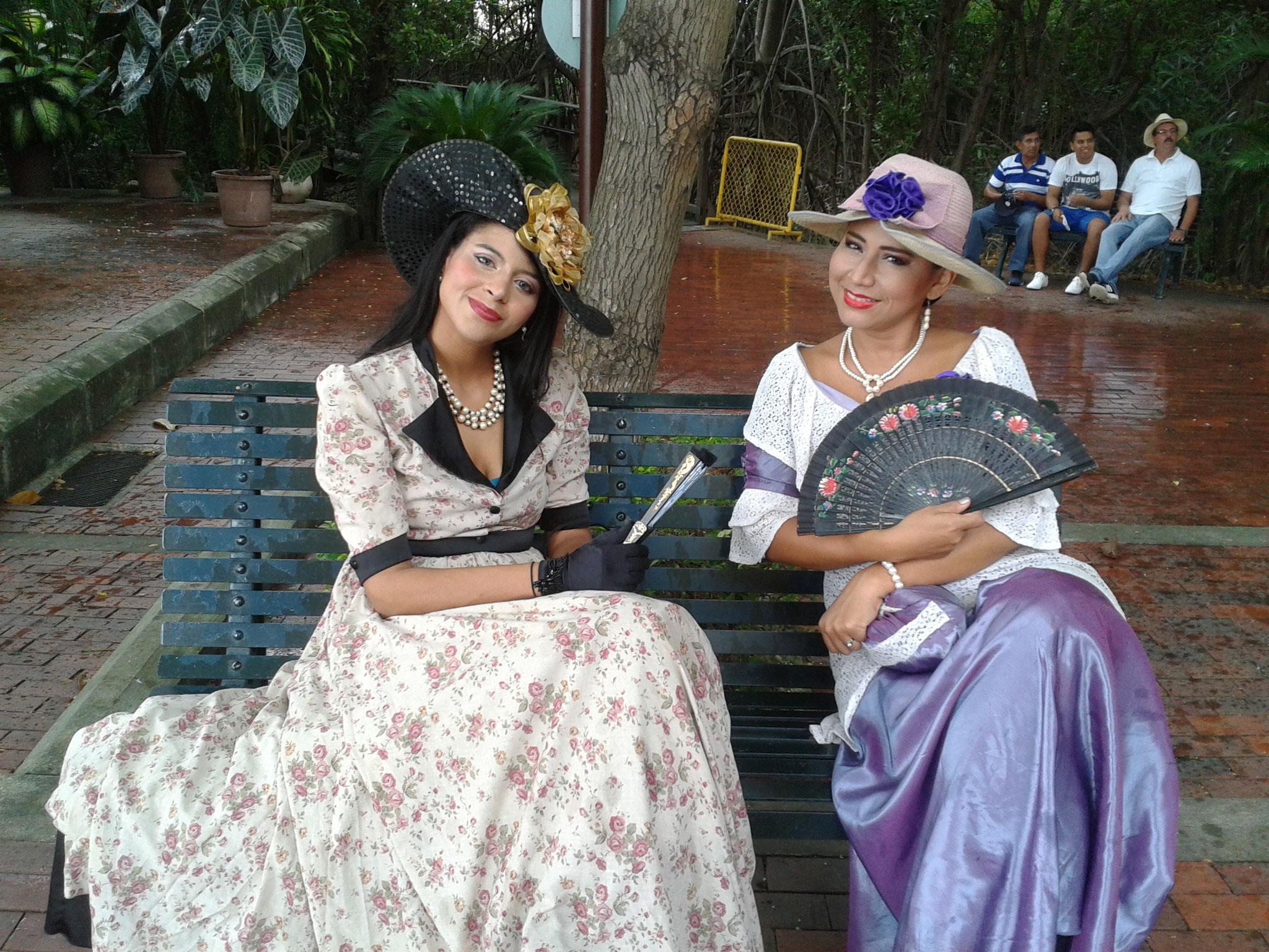L'élégance des Dames de l'époque à Guayaquil