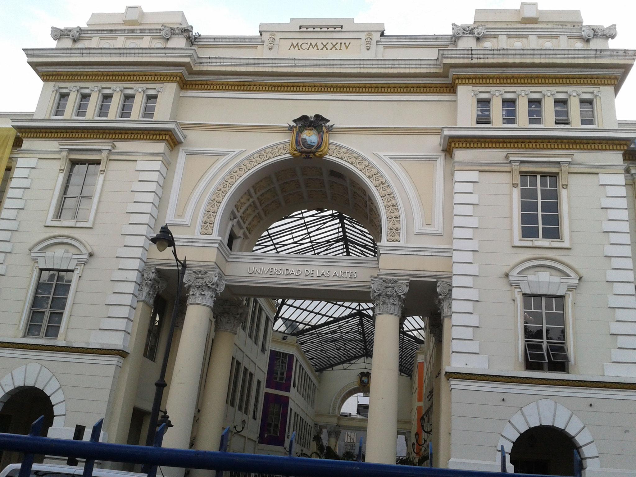 Universidad del las Artes (École des beaux-Arts) de Guayaquil, Guayas