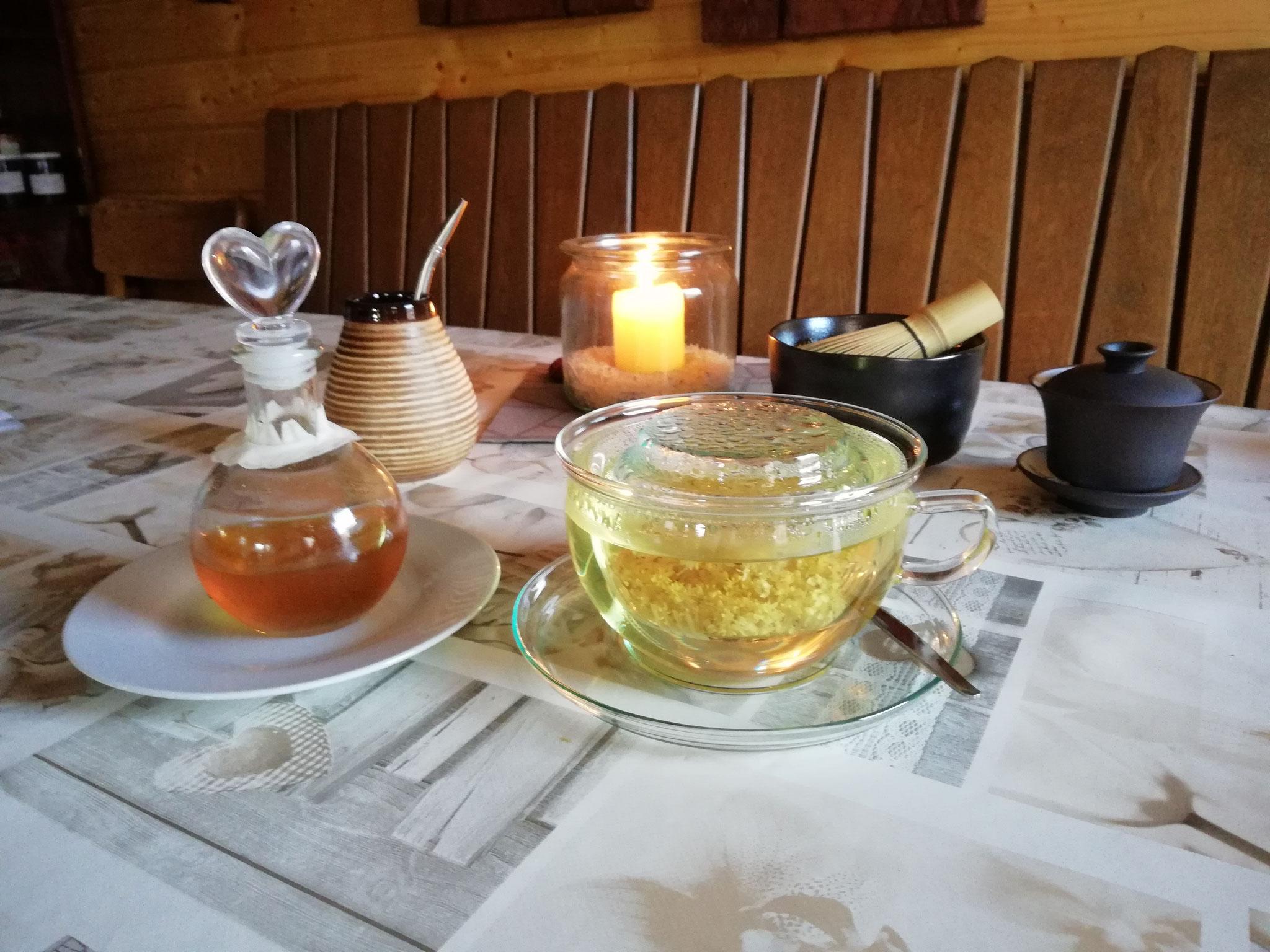 Verschiedene Teesorten, unterschiedliche Zubereitung