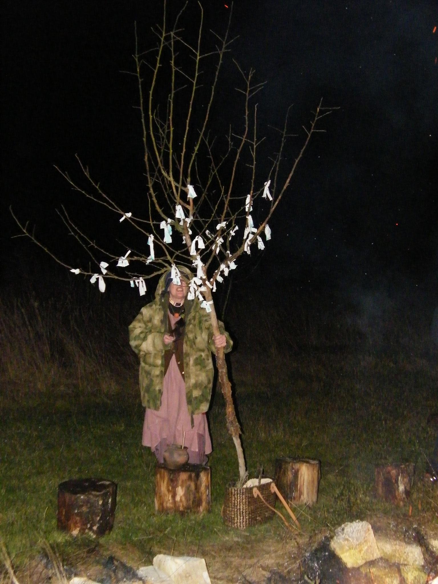 Der Wunschbaum am Julfest 2019