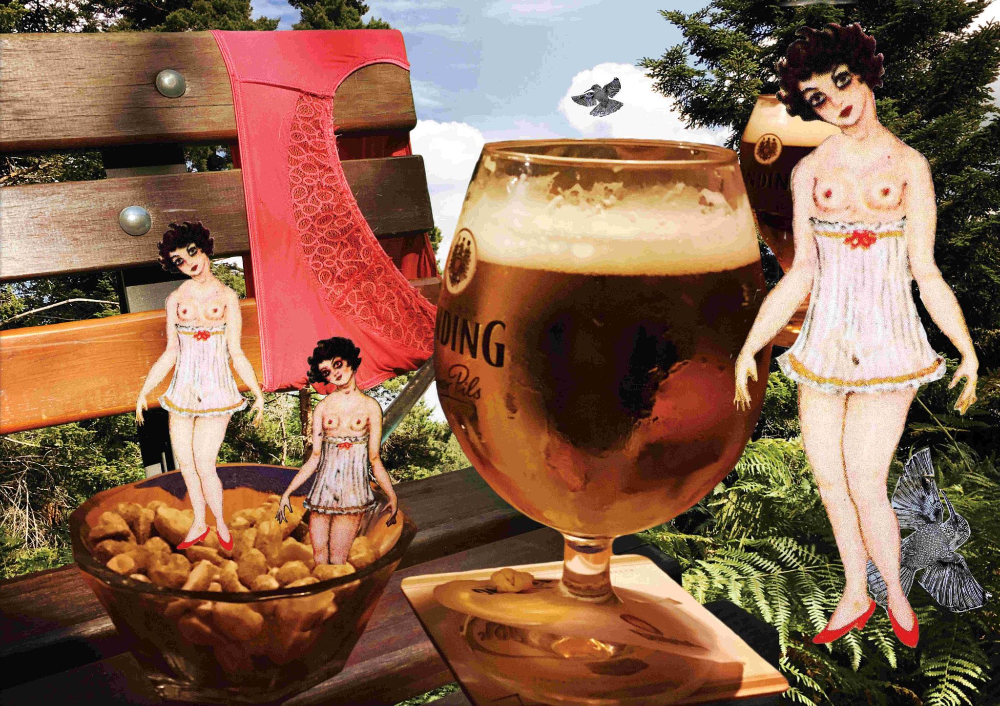 Nüsschen und Bier