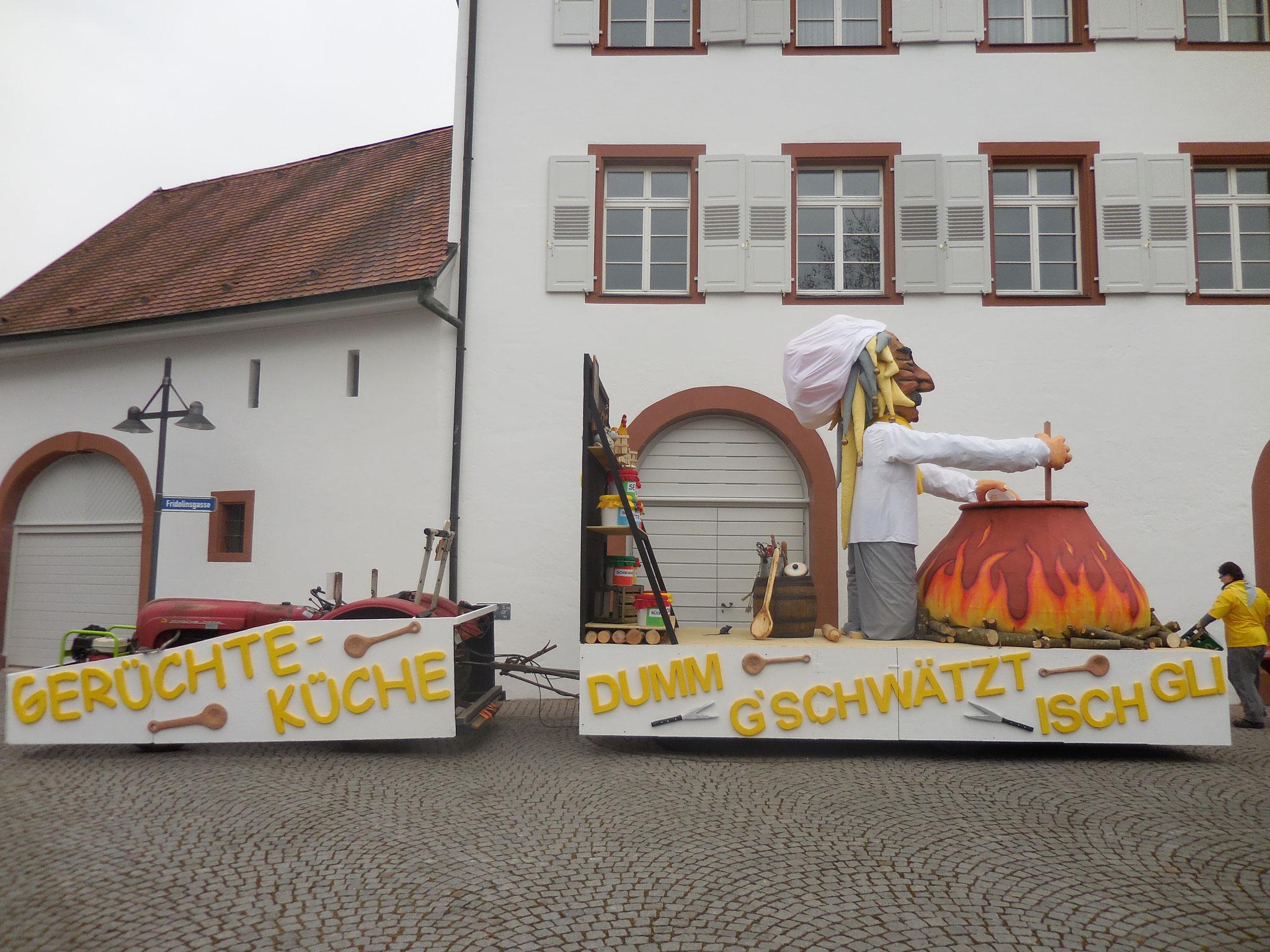 """2015 Gerüchteküche """"Dumm gschwätst isch gli"""""""