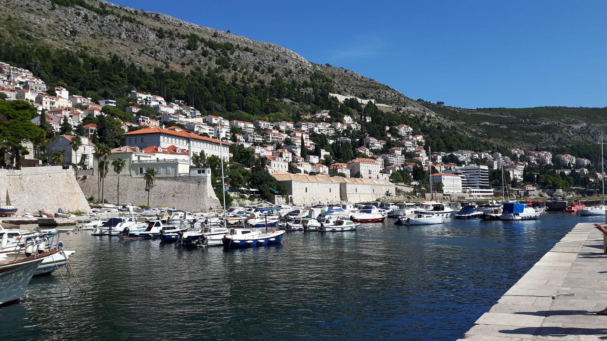 Am Hafen in Dubrovnik