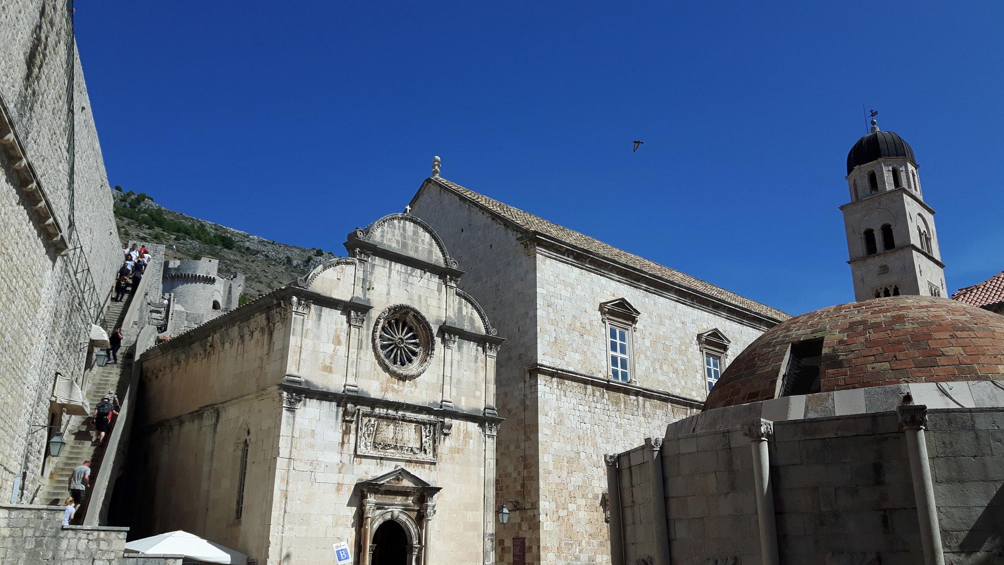 Beim Eingangtor Pile in Dubrovnik