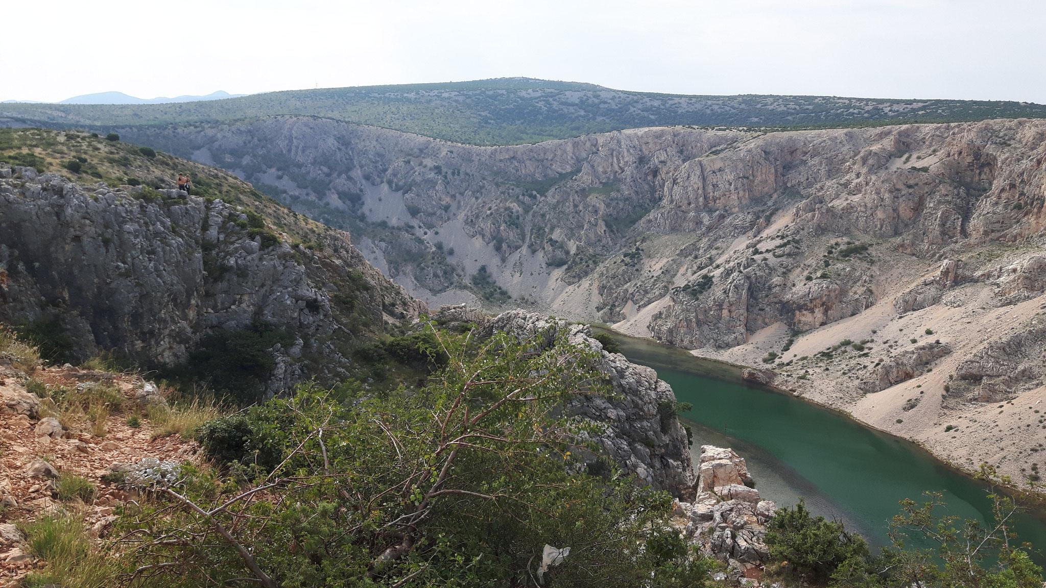 Der Zrmanja Canyon