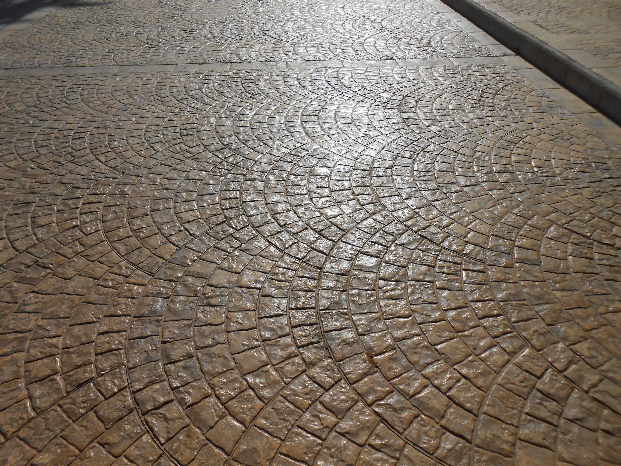 штампованного бетона