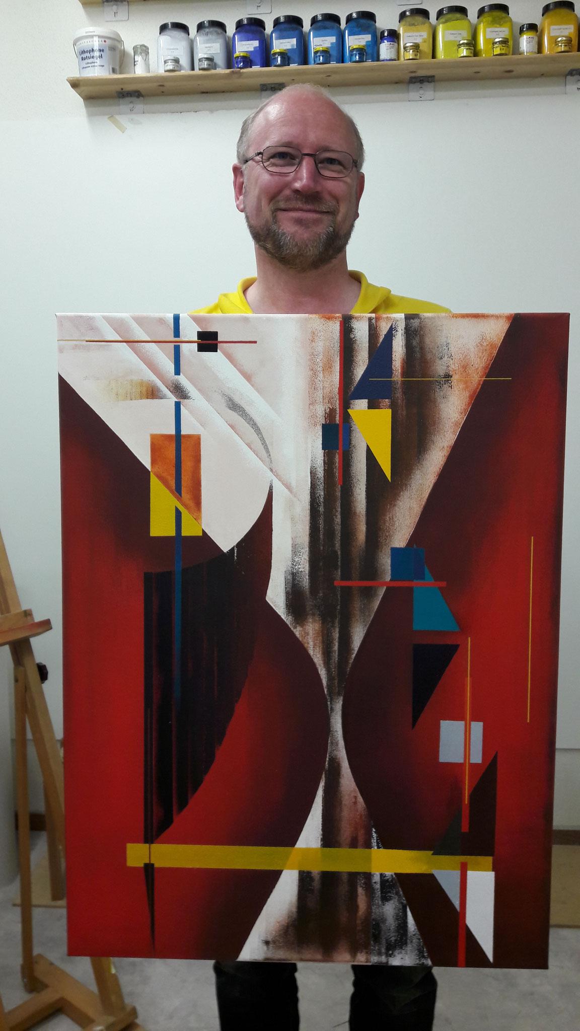 Acryl auf Leinwand, Michael Bühler