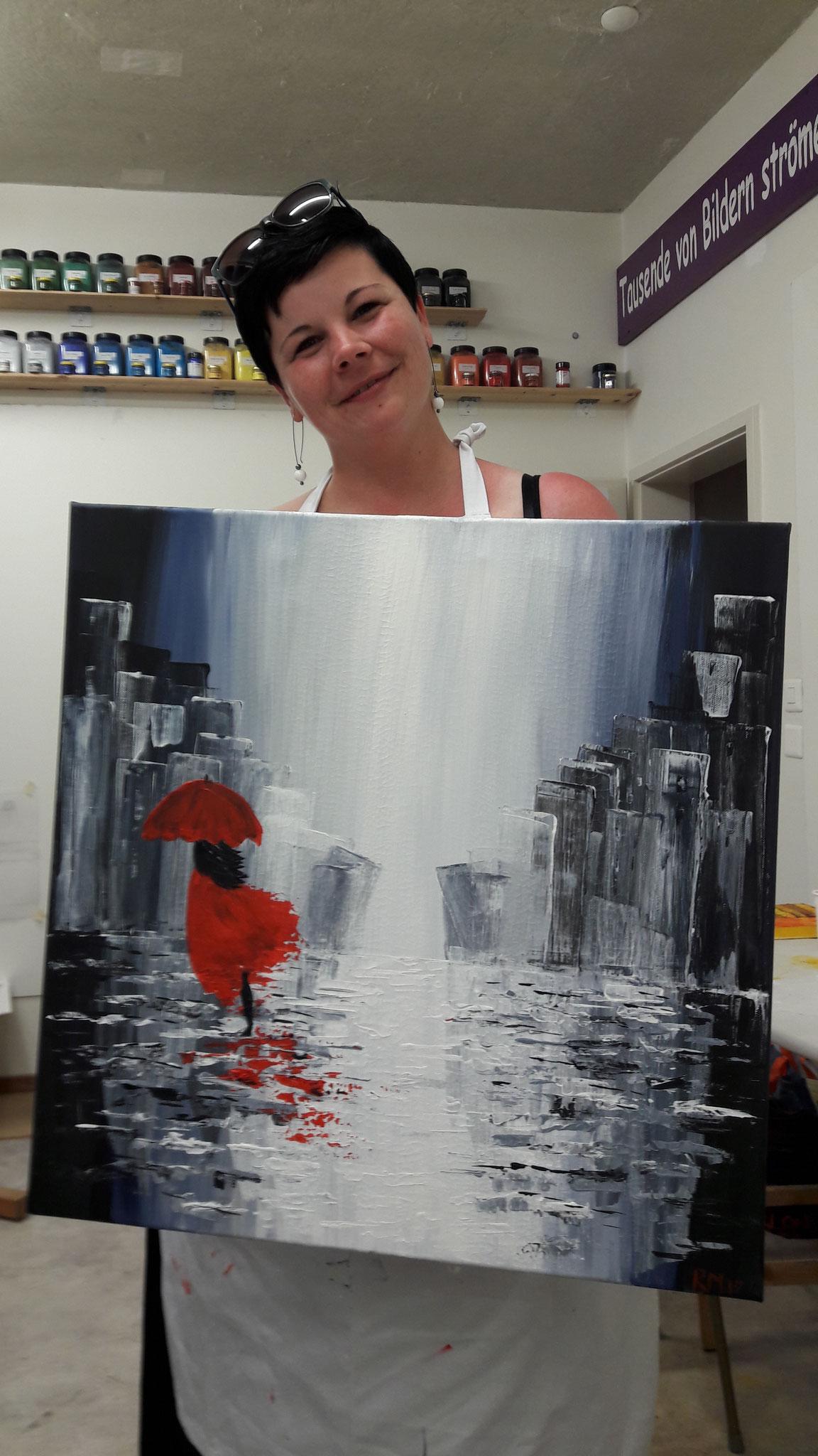 Spachteltechnik, Romina Mayer