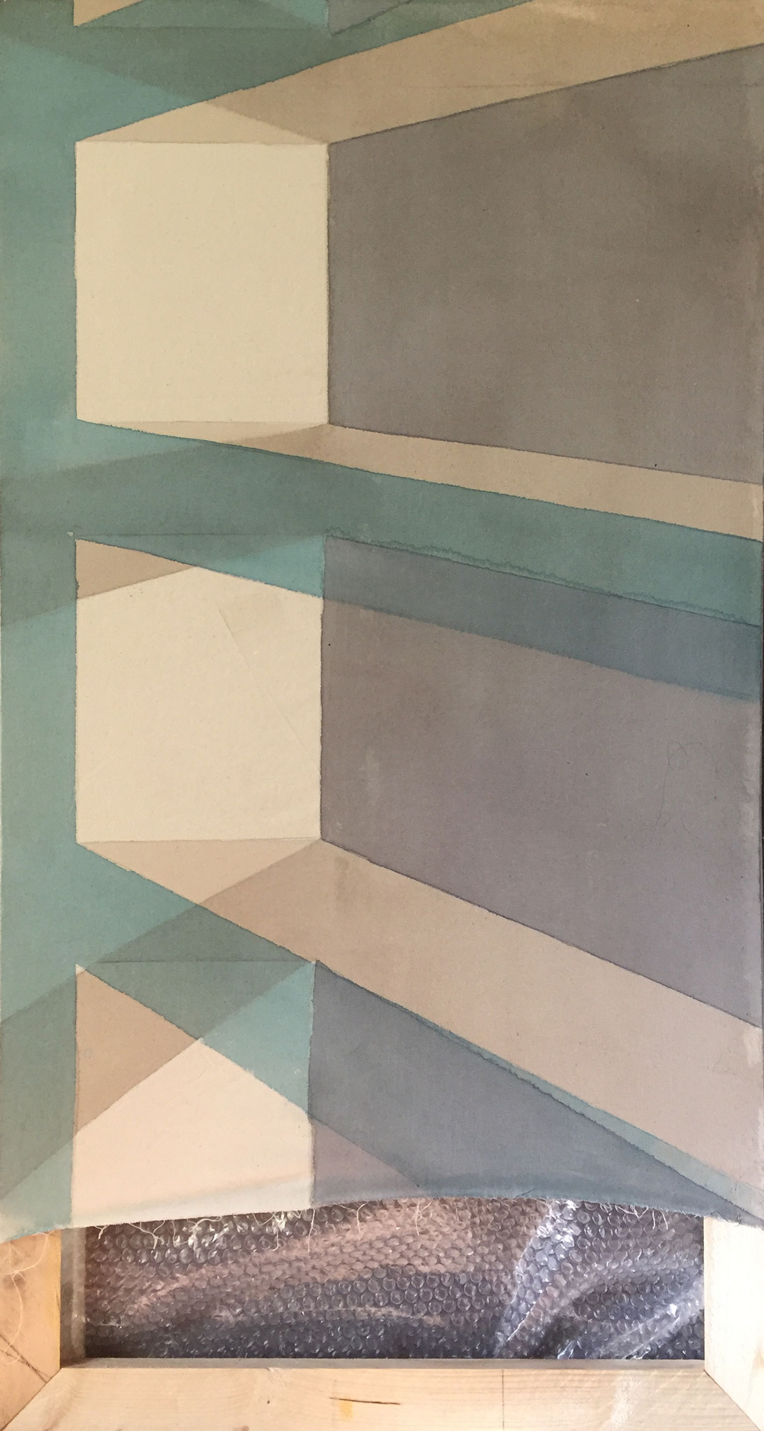 licht schacht / 2020 / 120x60 cm Acryl
