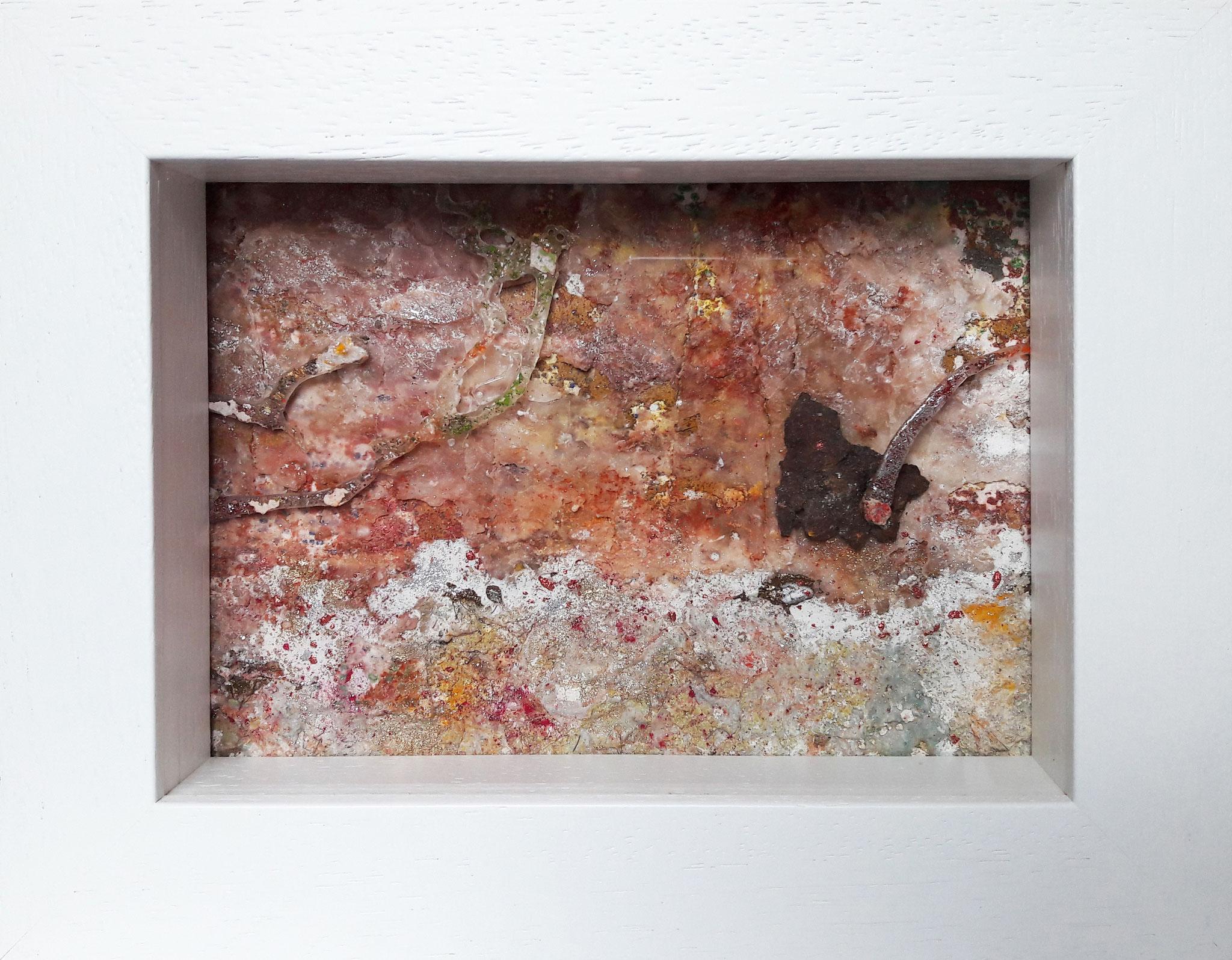 Nach Hause telefonieren E.T., Acrylmischtechnik, 23 x 18 mit Rahmen, 2017, verkauft