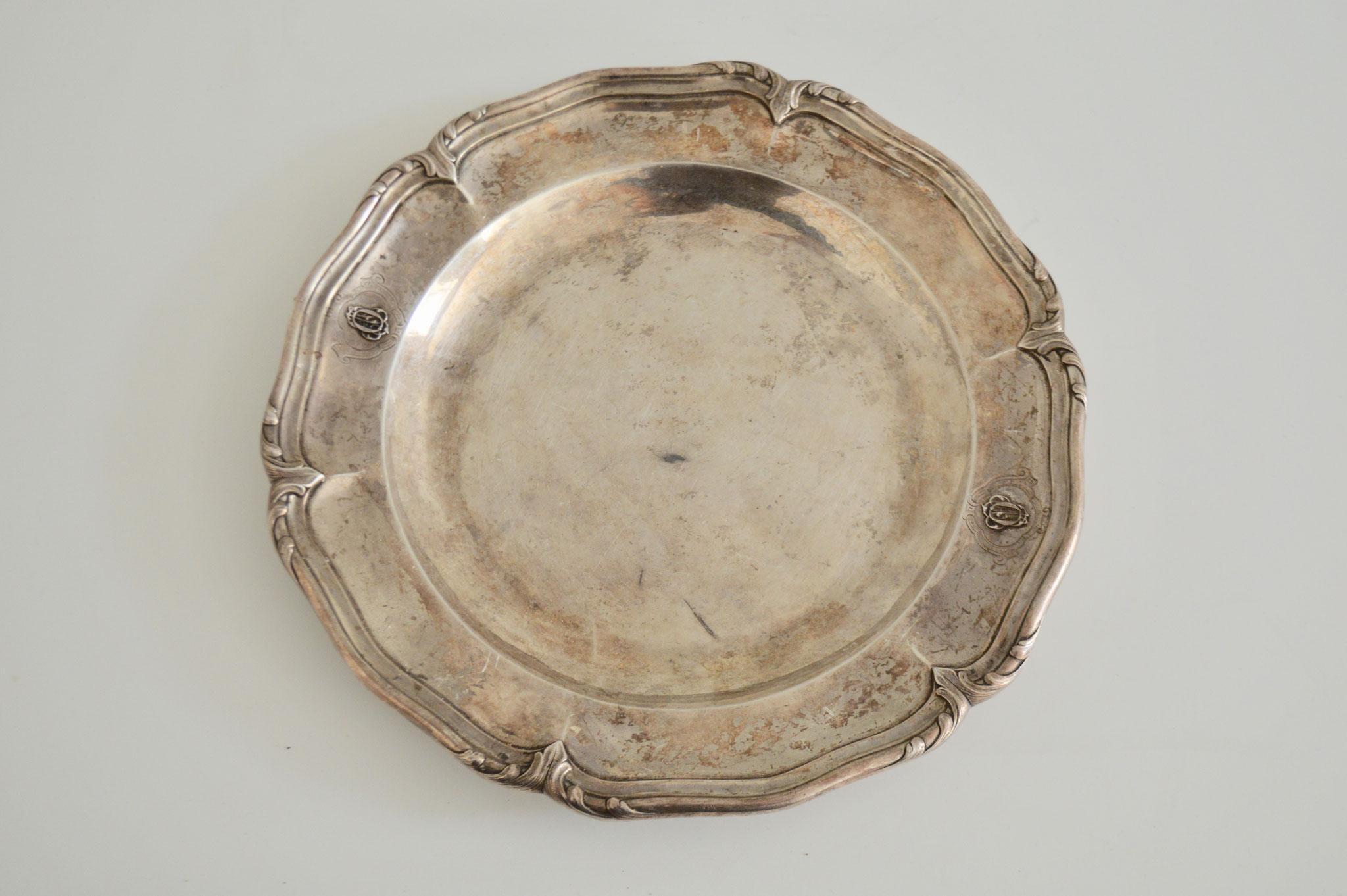 V) €4, Durchmesser ca. 29 cm