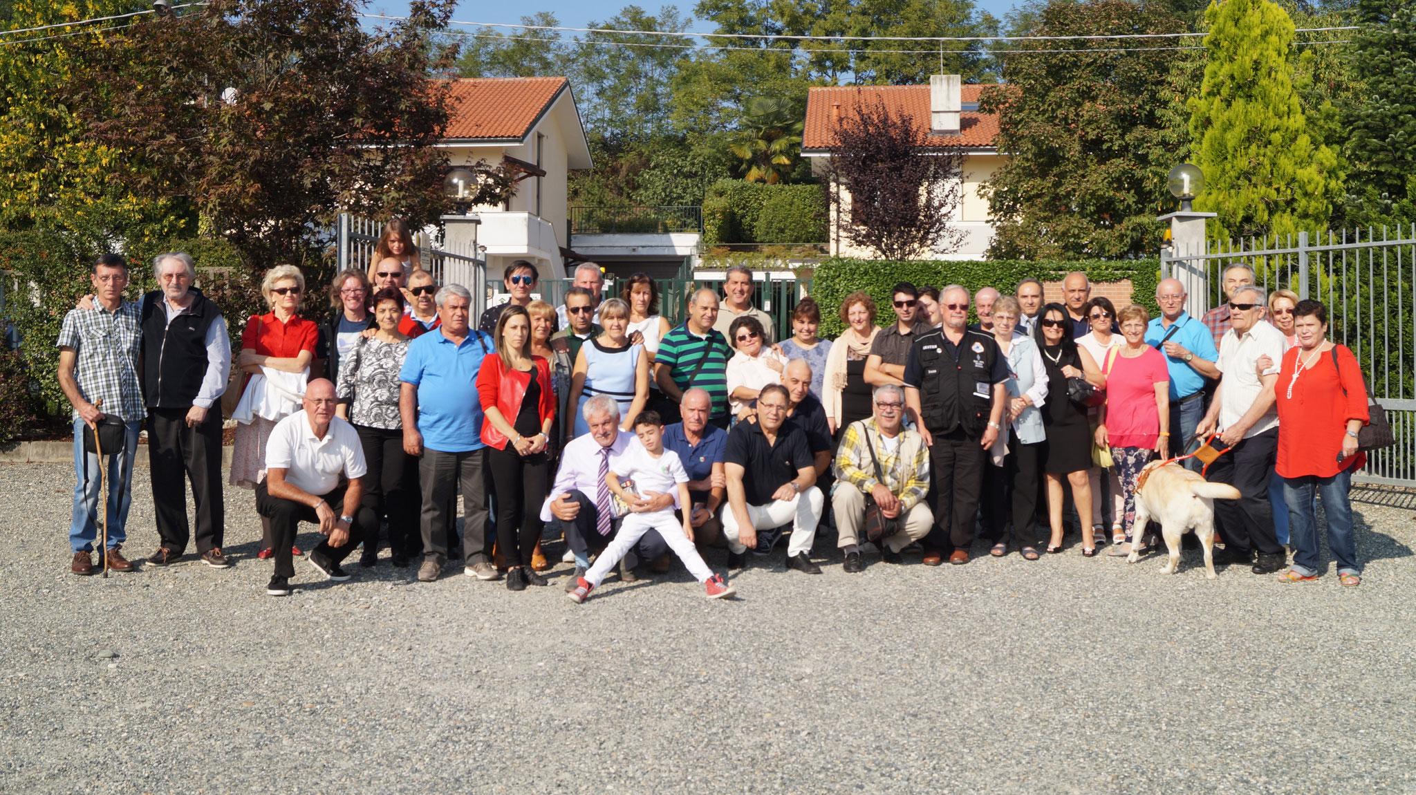 Foto di gruppo Meeting 25 Settembre 2016