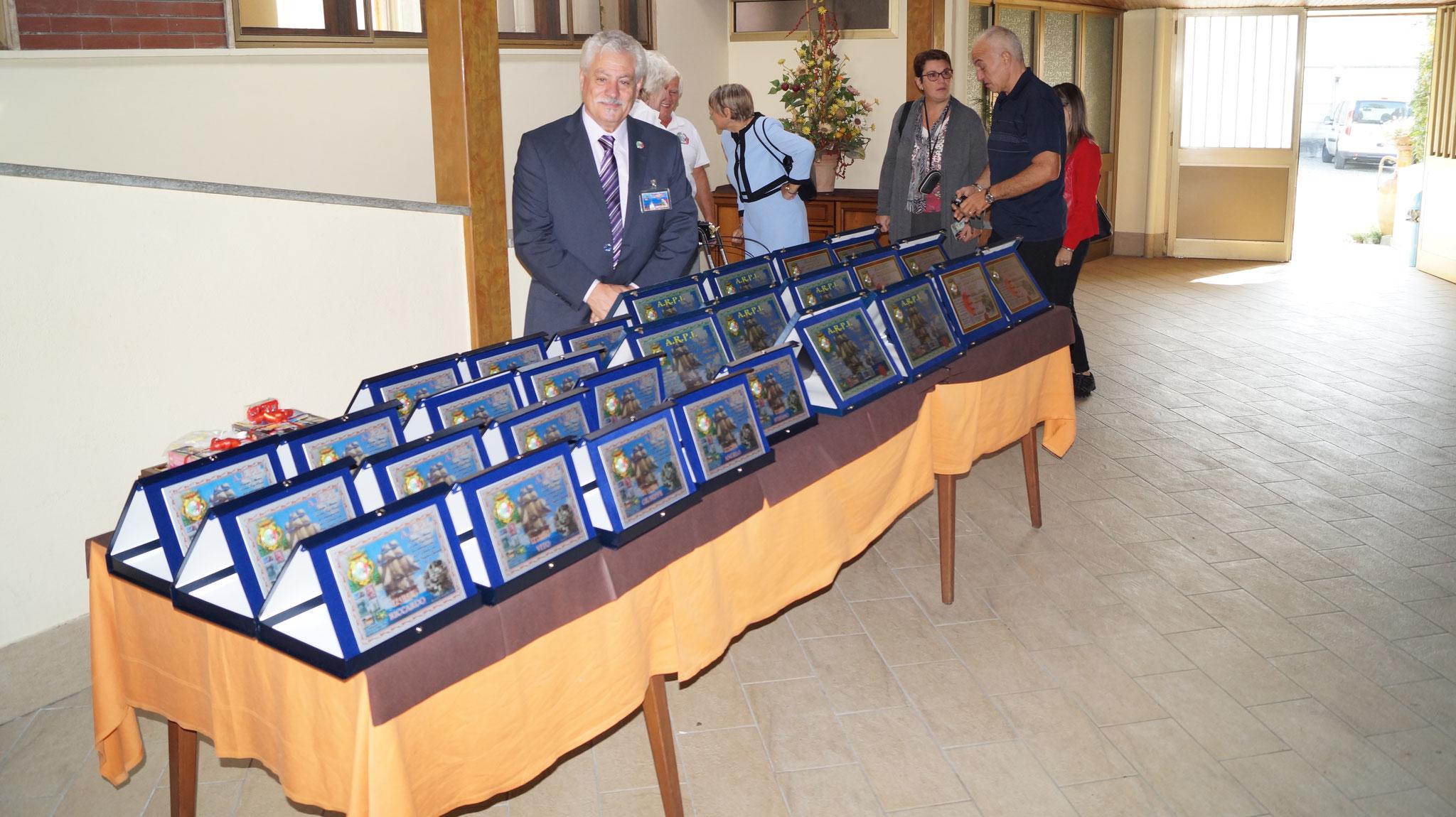 Premiazioni al Meeting A.R.P.I. 25 Settembre 2016