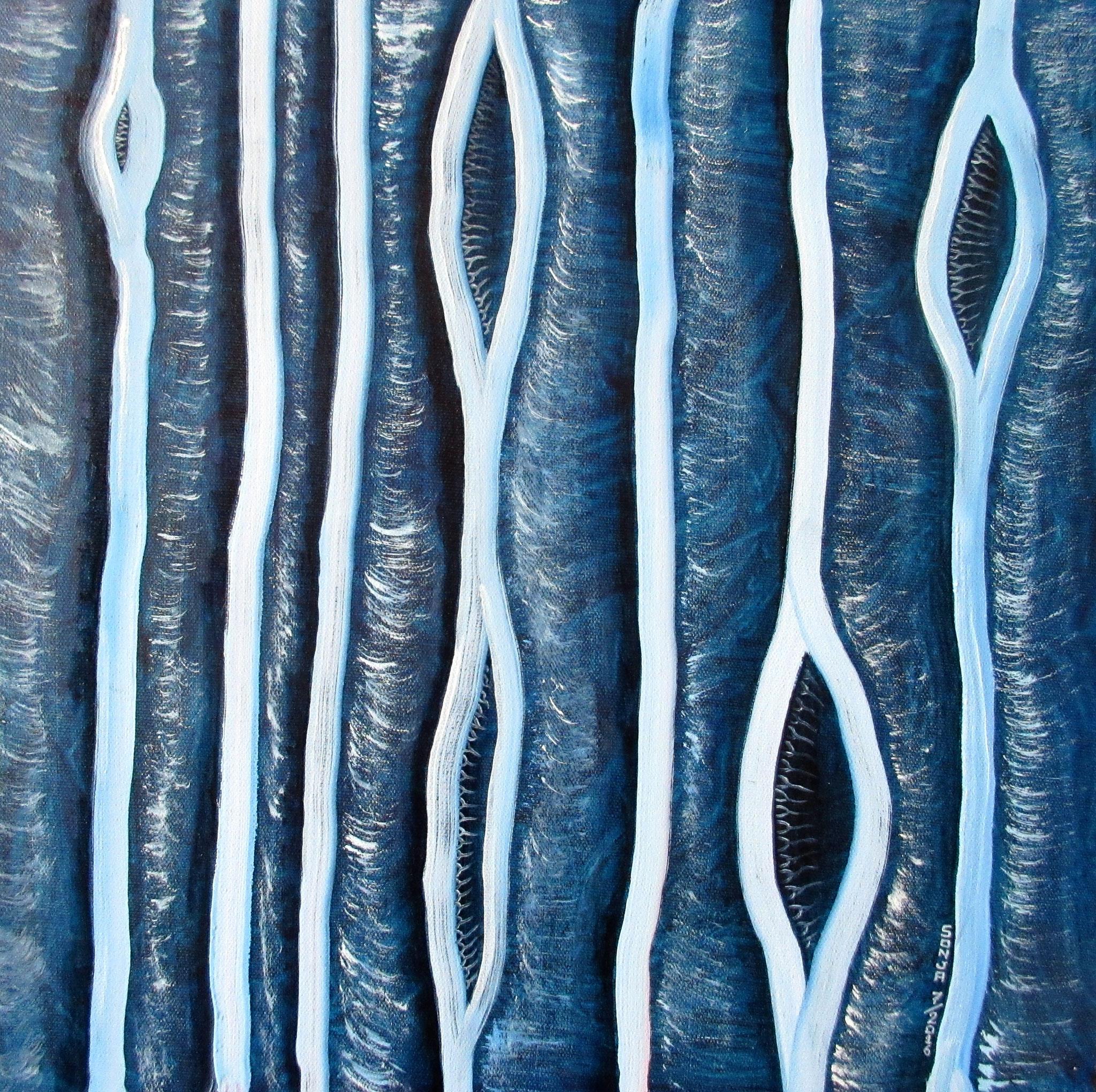 Oil & acrylic on canvas 16x16, July 2016 - (1/2)