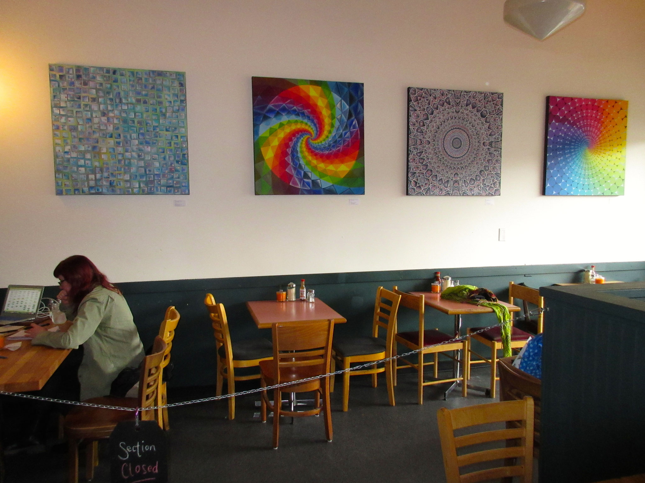 Show at Bandidas Taqueria in Vancouver, B.C. - Oct.3/16-Jan.15/2017 (5 sold)