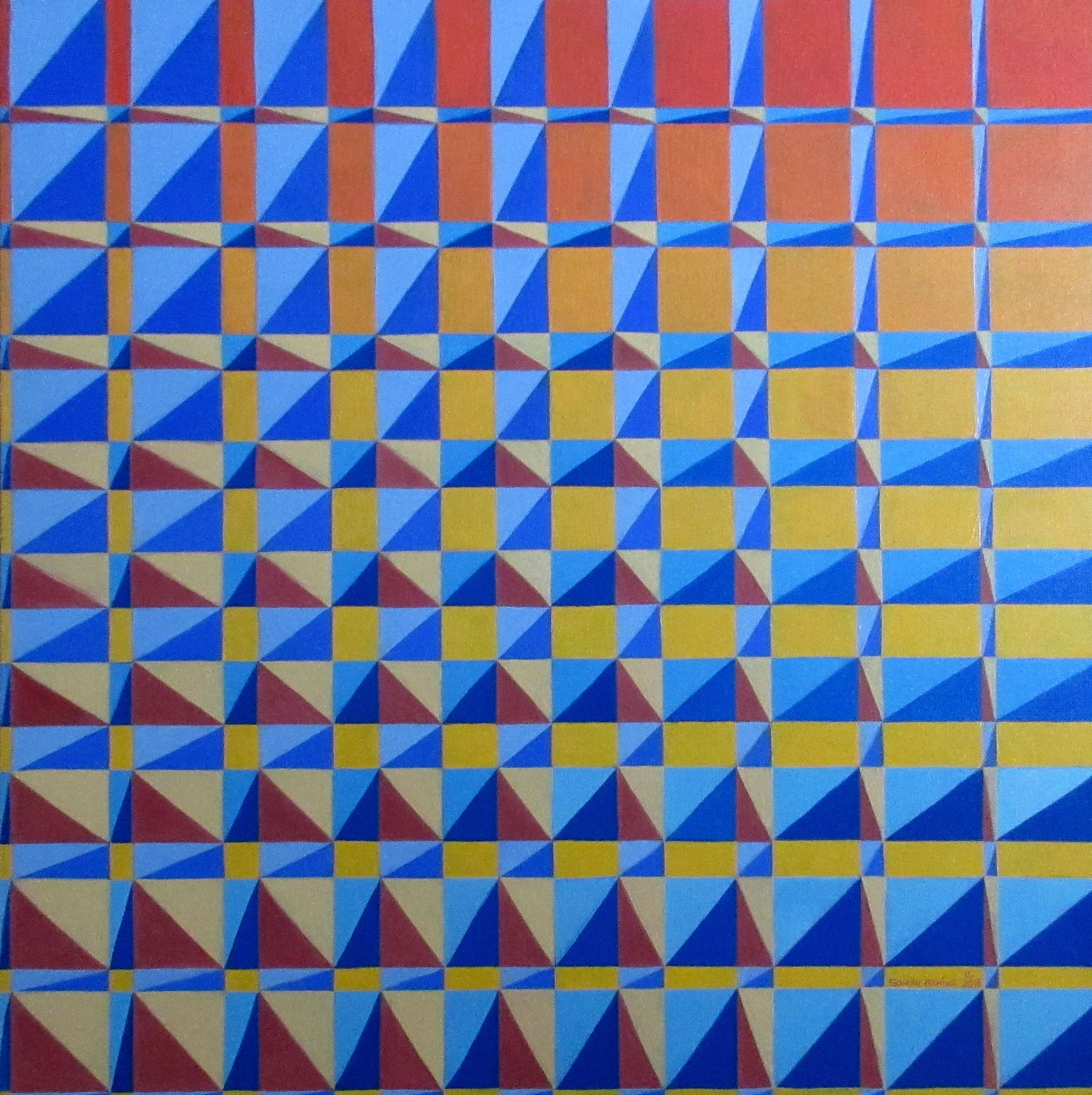 Untitled V, oil on canvas 24x24, November 2016 - (5)