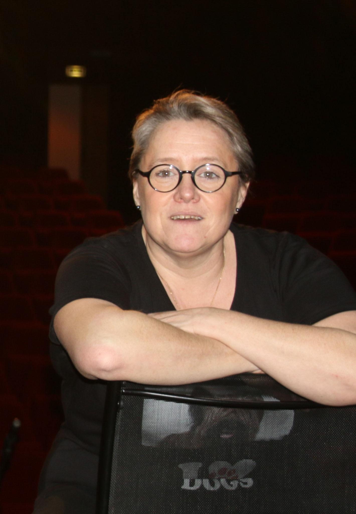 Françoise GUTIERREZ, membre de Pioupious, comédienne et intervenante pour les stages