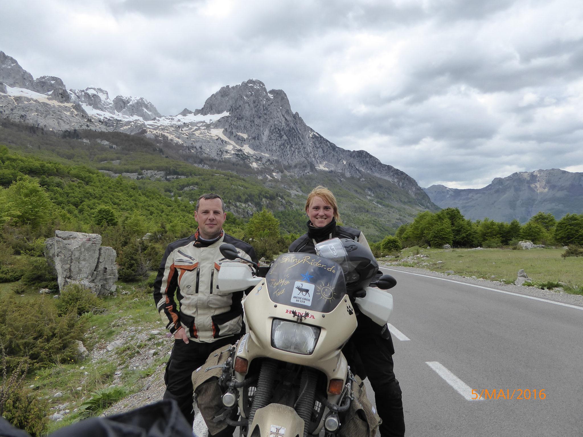 So würde wohl ein Foto für eine Werbung aussehen, wenn wir Abenteuertouren anbieten würden ;)