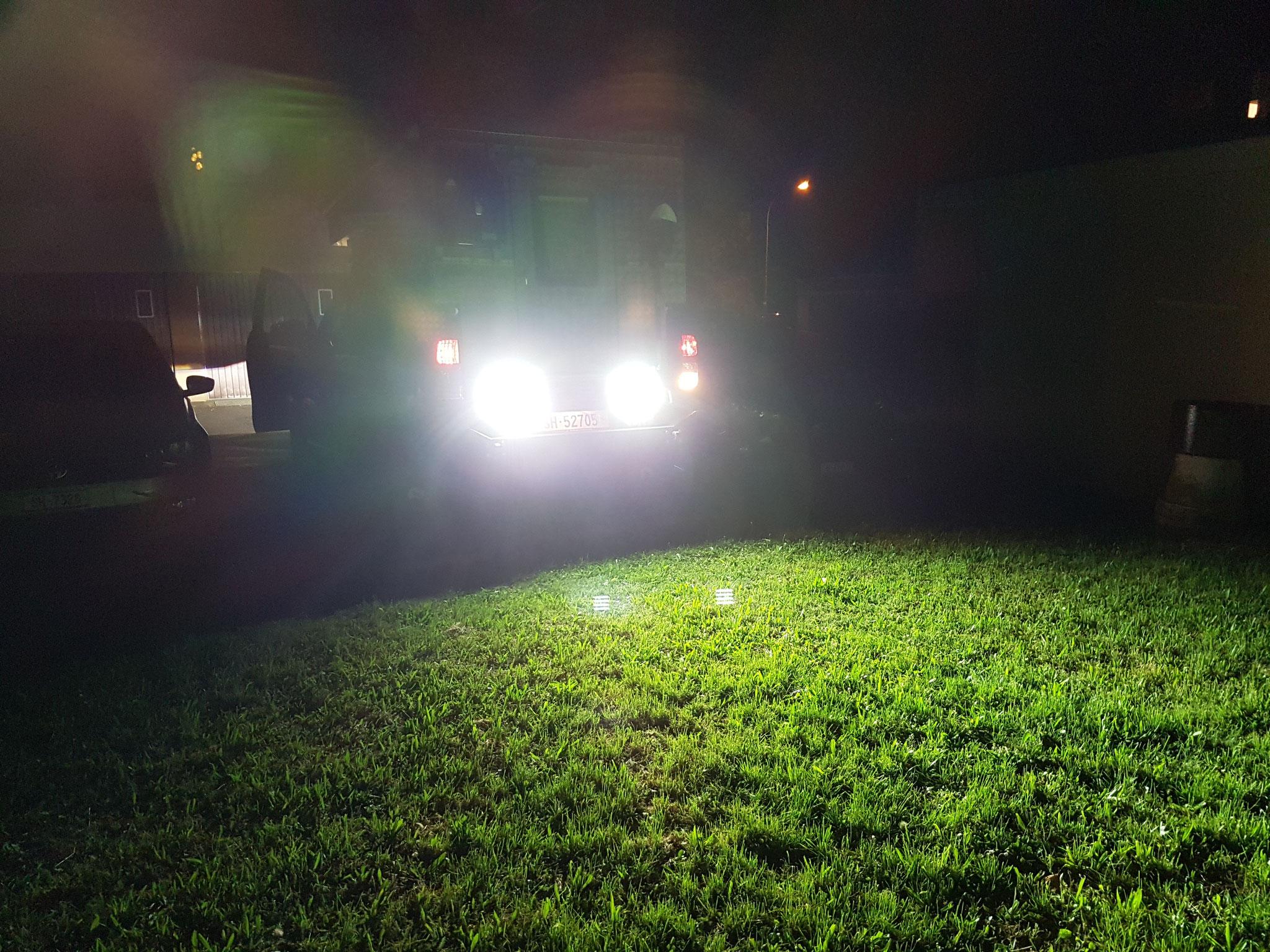 24W Lightpartz solutions Rückfahrscheinwerfer LED TÜV Strassen zugelassen LTPZ-RL004-F ECE R23 ECE R10 #Projektblackwolf