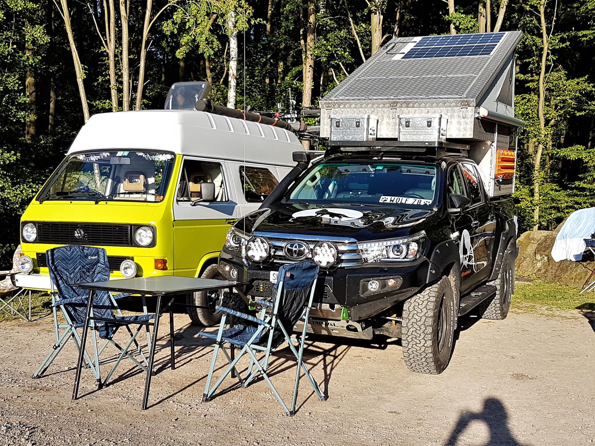 Schweden Landscape Toyota Hilux Pickup-camper Arctic Trucks Skandinavien #ProjektBlackwolf wolf78 driive your own way offroad overland Travel Camping 4x4 AFN4x4 frontrunneroutfitters #BornToRoam Rival4x4  overlandbound wolf78-overland.ch