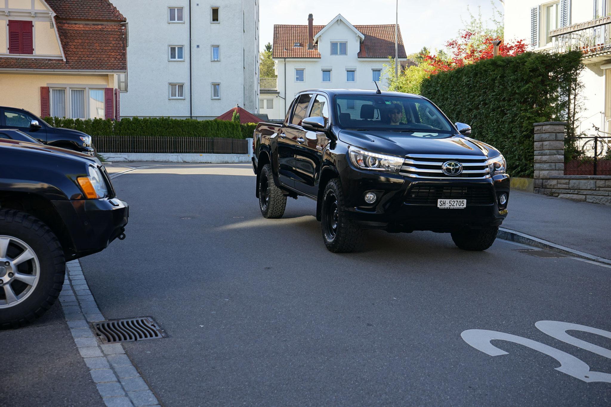 Toyota Hillux quadcab 2.4 Revo sol premium 4x4 Blackwolf Wolf78-overland.ch offroad 4x4 Bf goodrich