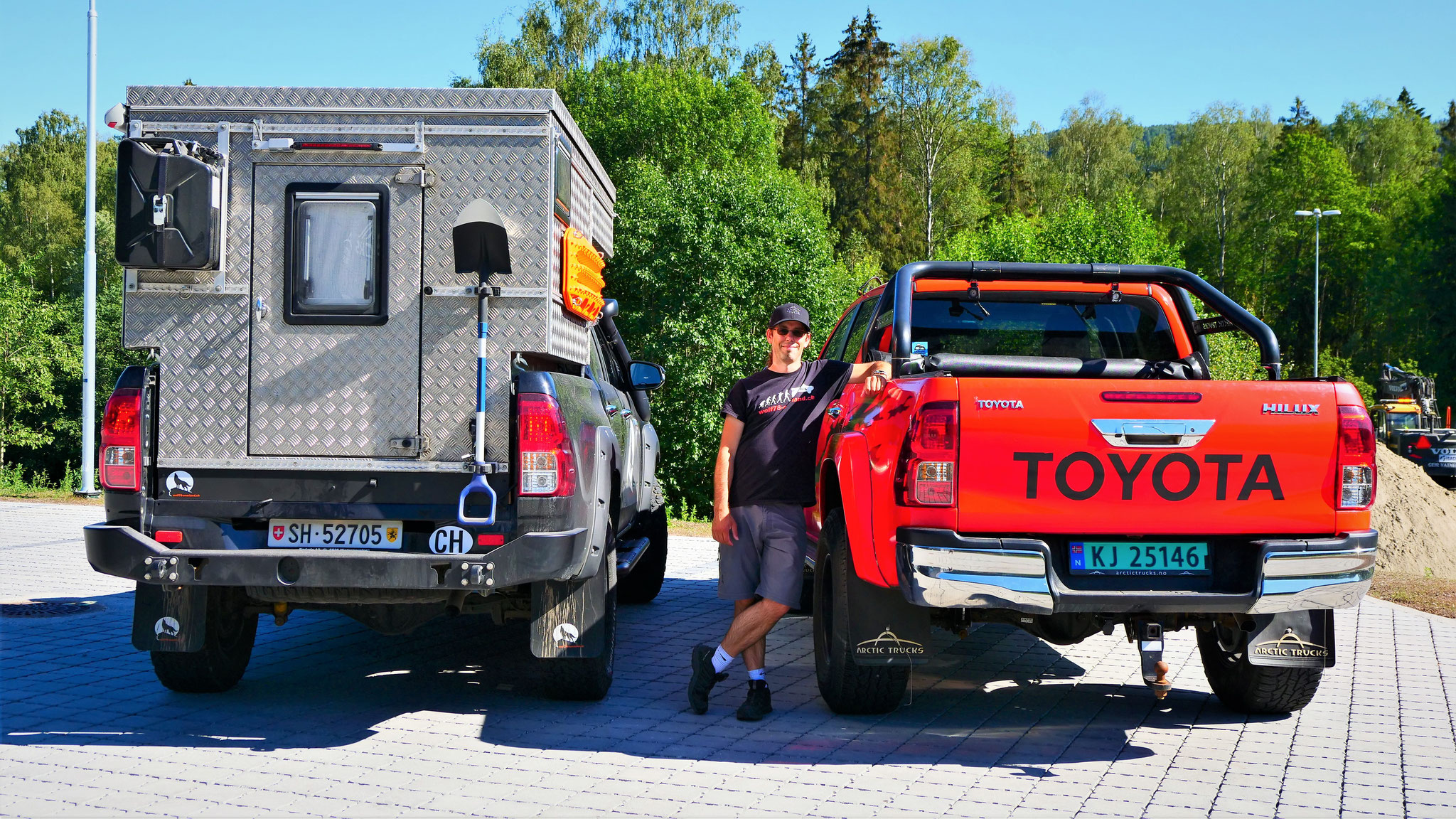 Arctic Trucks Norwegen #ProjektBlackwolf wolf78 overland explore without no limits Toyota Hilux AT33 AT35 Travel Camping EXKAB roadtrip offroad Overlandingnomads Overlandbound wolf78-overland.ch
