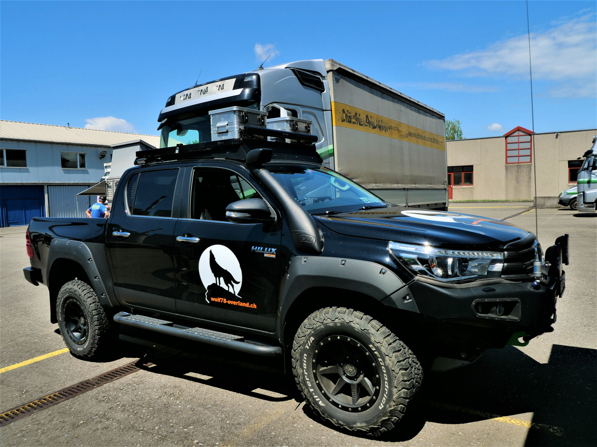 EXKAB Wohnkabine Toyota Hilux arctic trucks At33 At35 travel overland truck Revo N80 #ProjektBlackwolf offroad Pick up camper Drive Your own Way AFN4x4 Rival4x4 bfgoodrich t/a ko2 285/70R17 ltprtz DL0011-C Explore Without Limits #borntoroam Expedition
