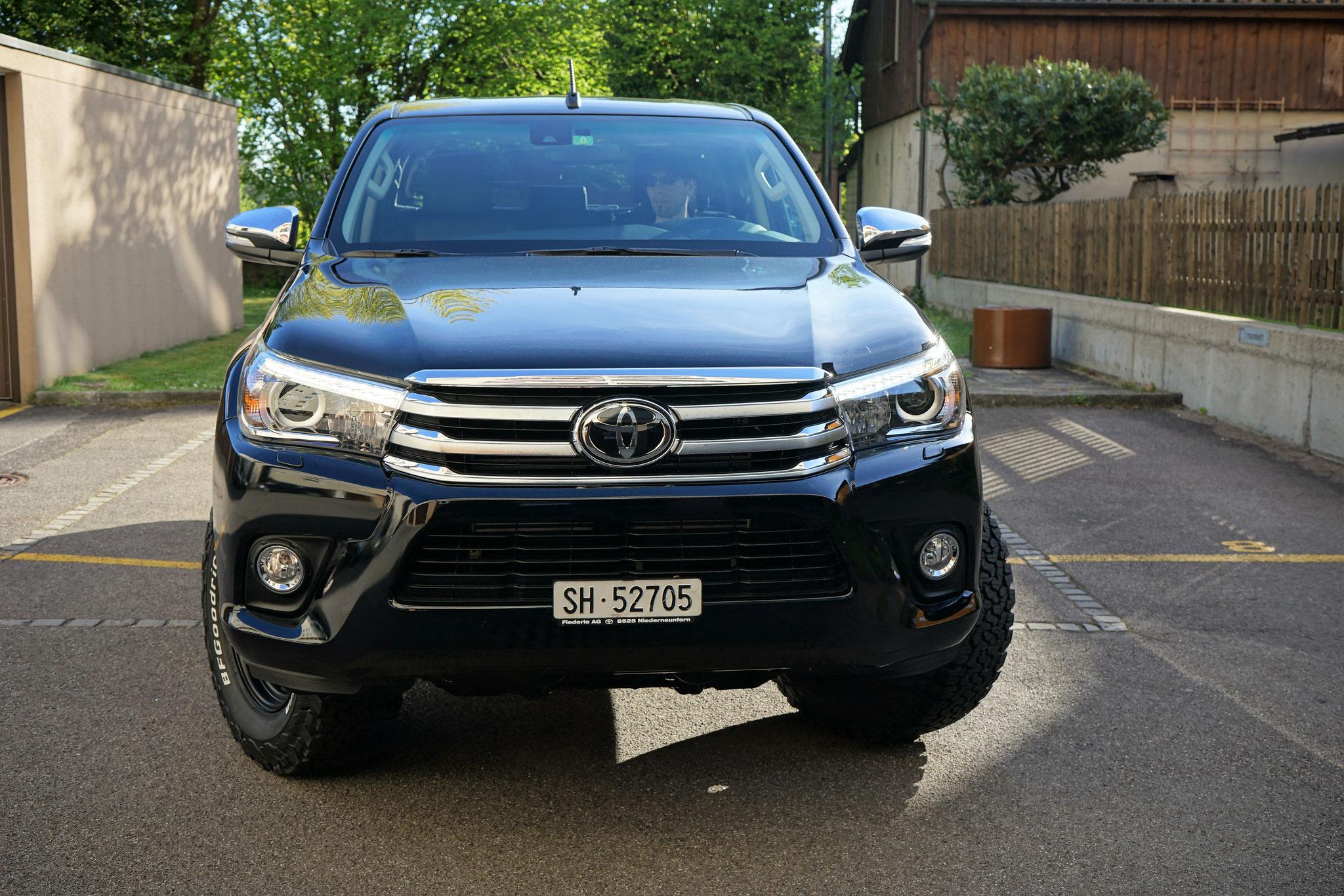 Toyota Hilux docab 2016 2017 2018 2.4 Revo sol premium 4x4 #Projektblackwolf  Wolf78-overland.ch offroad overland 4x4 Bf goodrich Bfgoodrich t/a ko2 265/70 R17