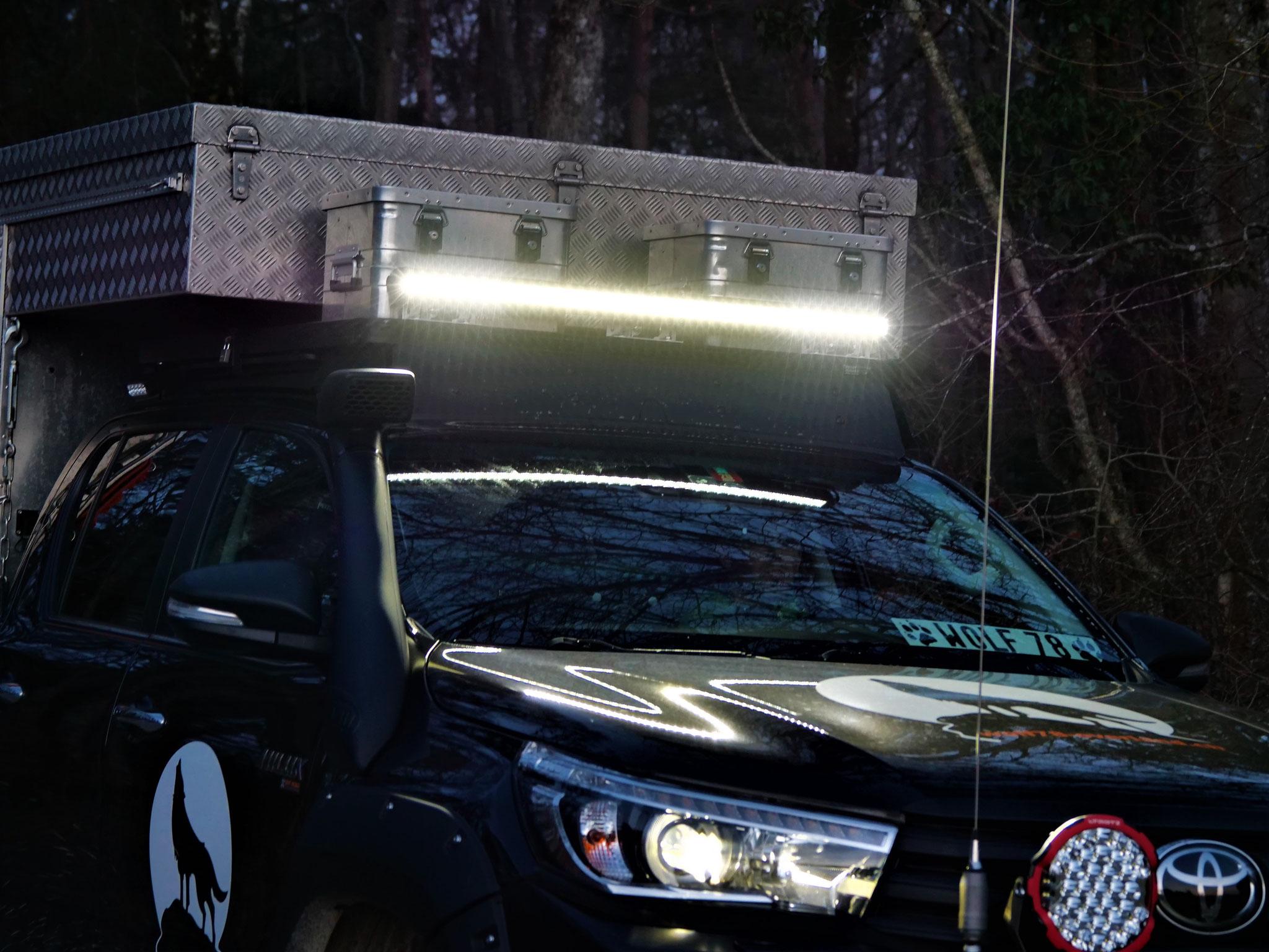 """lightpartz LTPRTZ 200W 40"""" SR-X Lightbar 10° 35° Modell SR200 offroad Lightbar Arbeitsscheinwerfer Hilux ECE R10 geprüft"""
