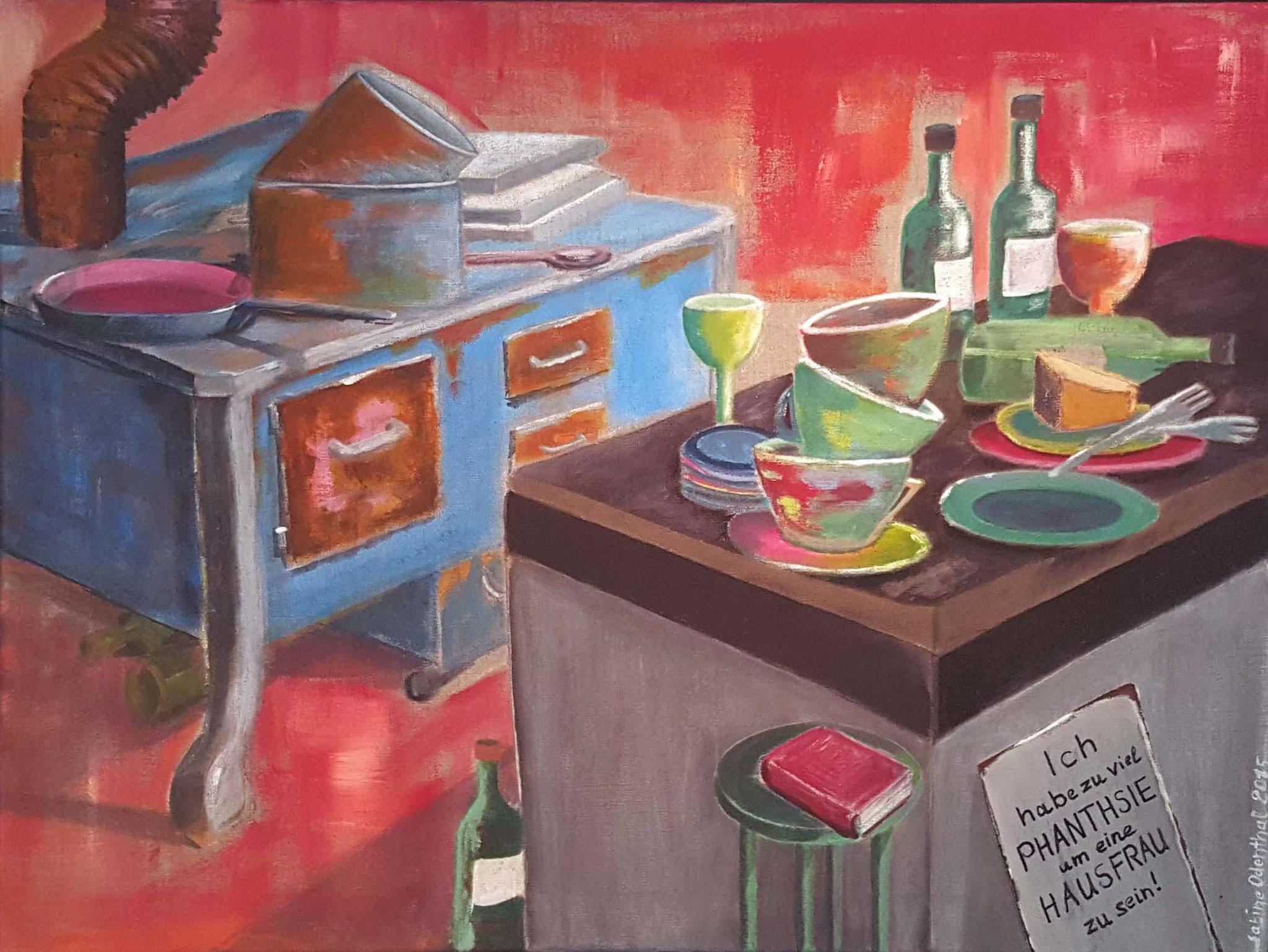 """Kitchen""  Acryl auf Leinwand / 60 x 80 cm"