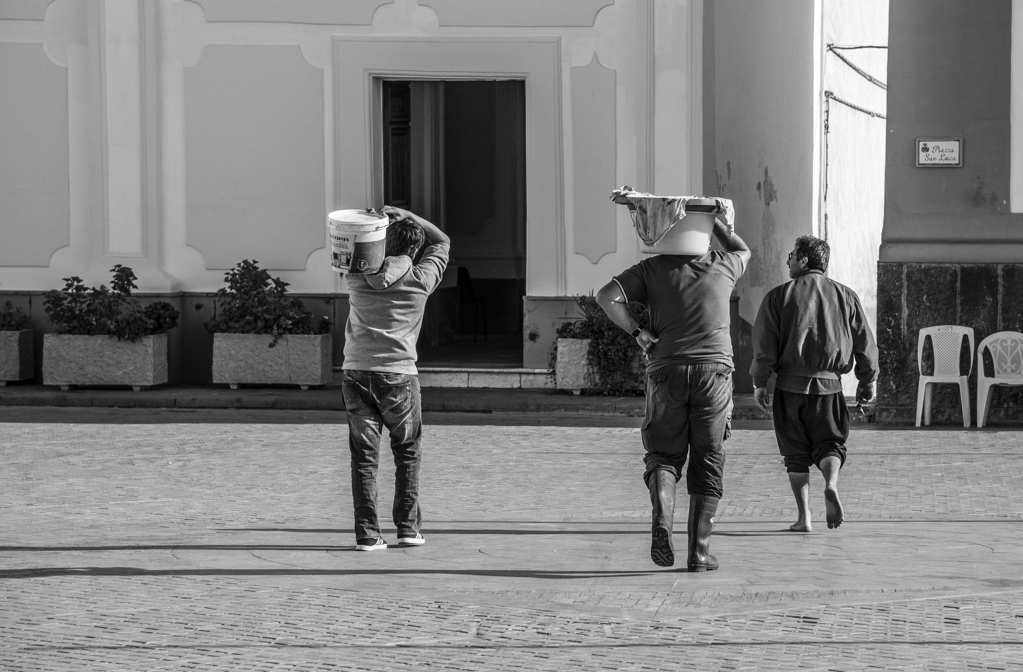 """Giuseppe di Martino """"uomini al lavoro"""""""