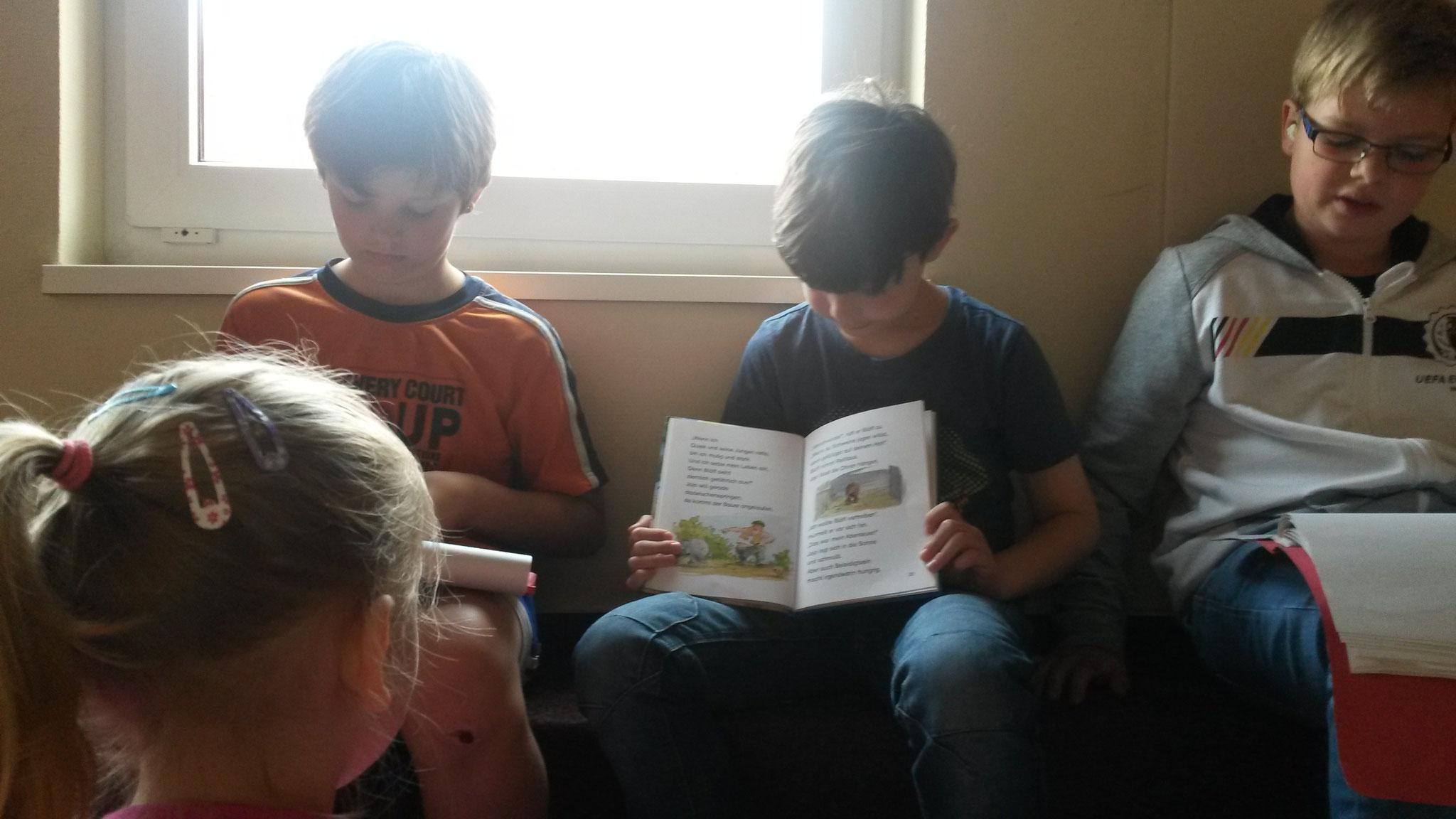 Unsere Bücher haben auch Bilder und die wollen wir auch unbedingt zeigen