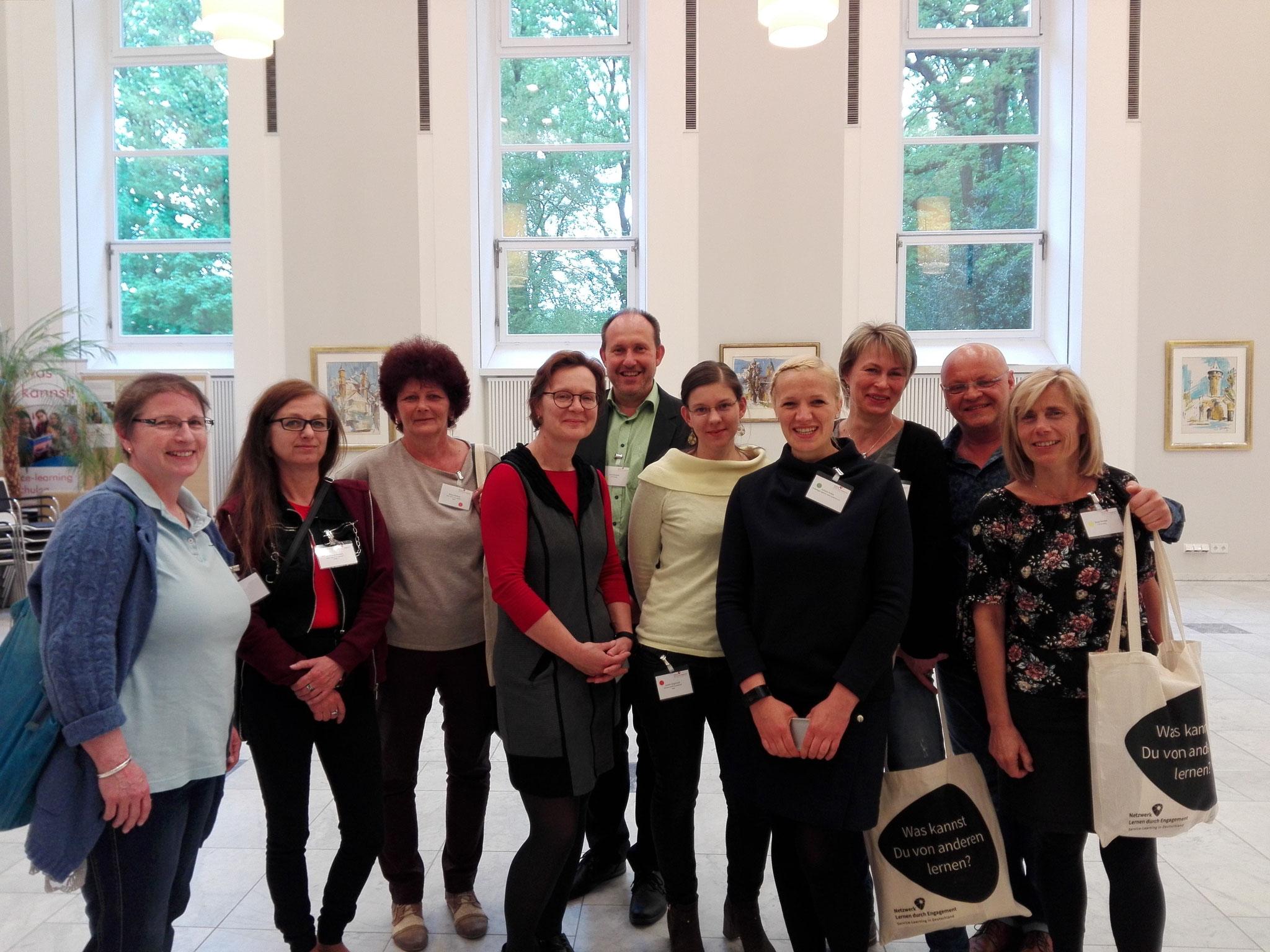 Team Sachsen-Anhalt bei der Jahrestagung des bundesweiten Netzwerks 2018