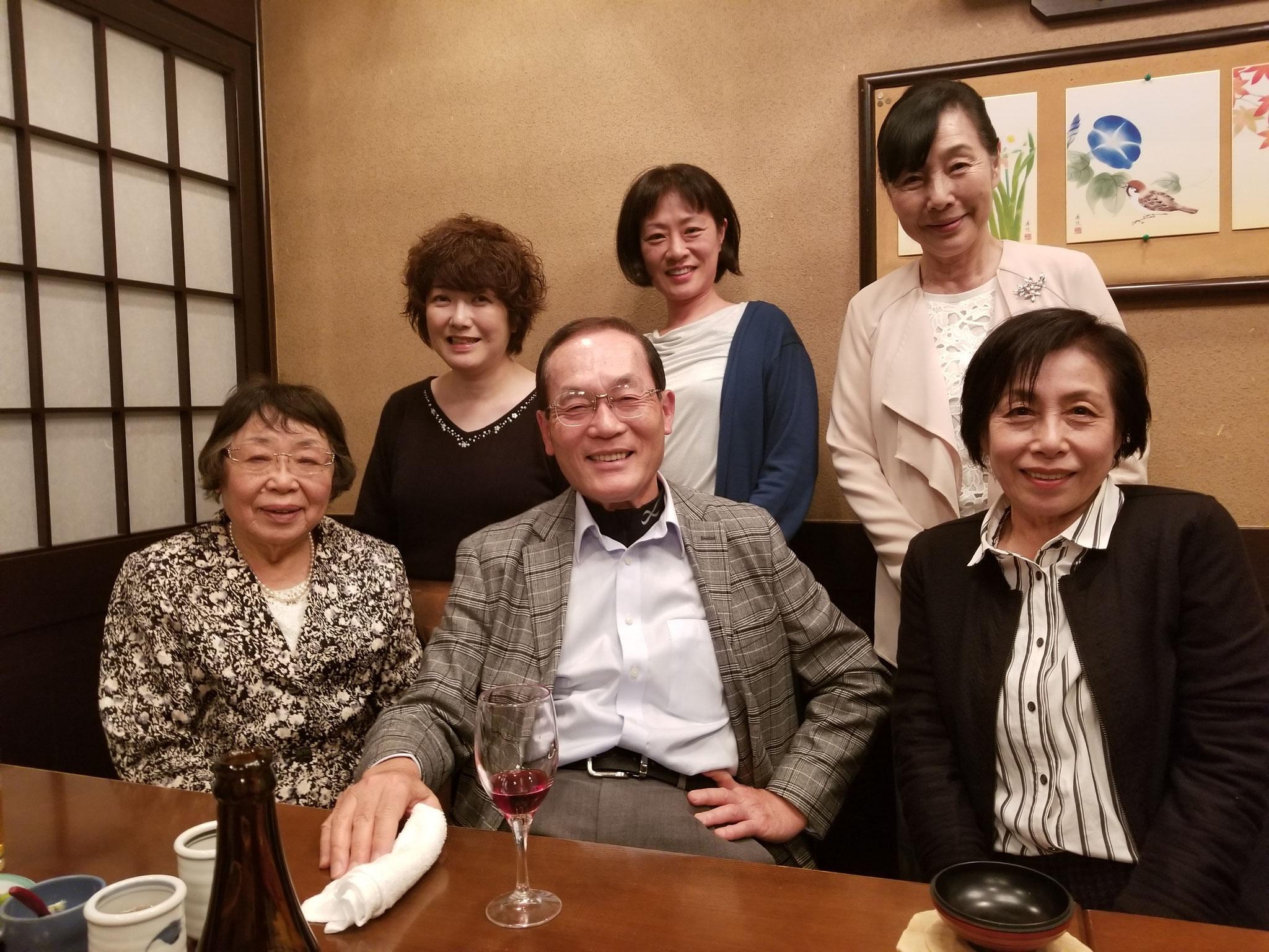 2018 高杉暢也氏 講演会(懇親会にて)