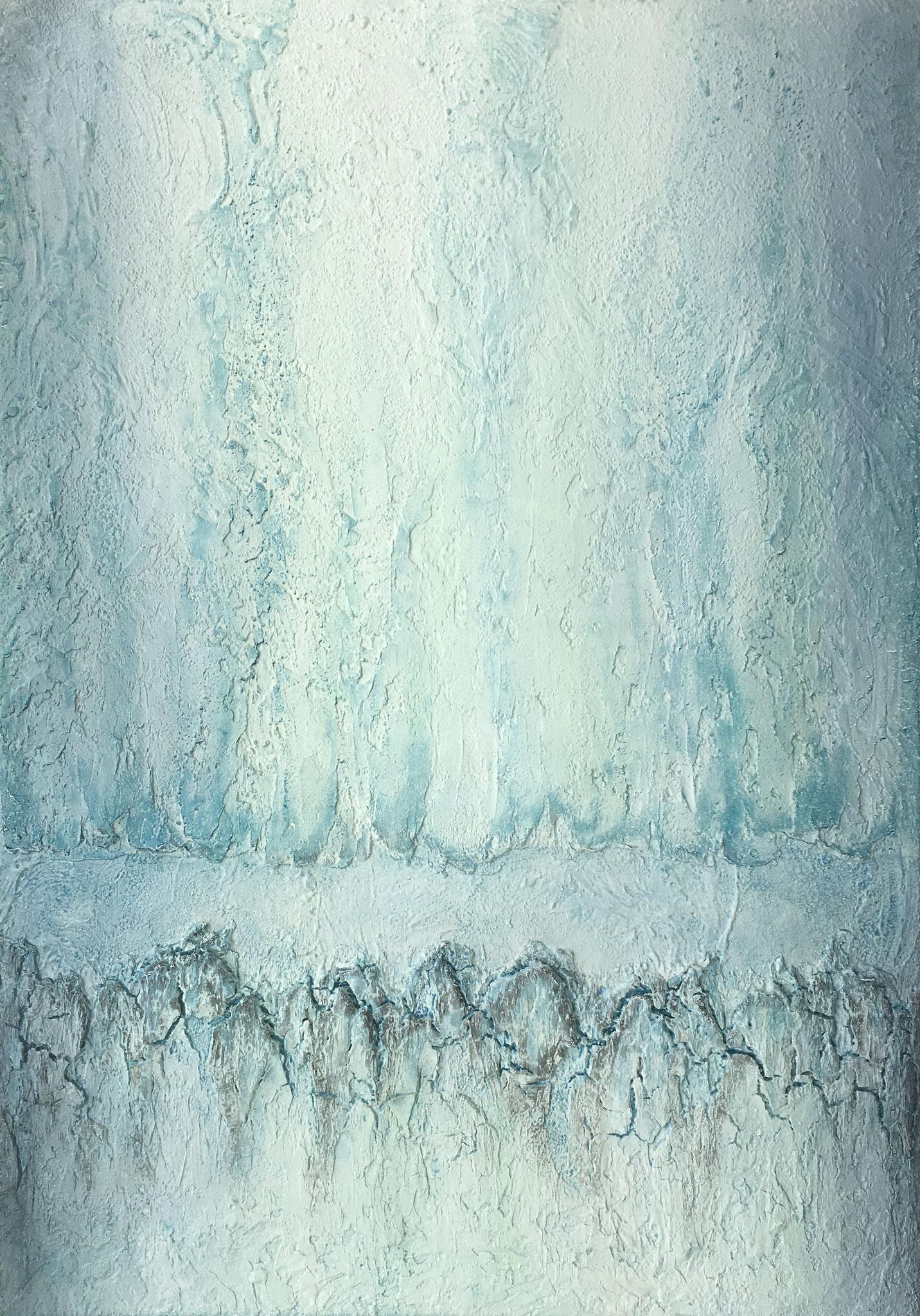 """Athabasca"", 70 cm x 100 cm"